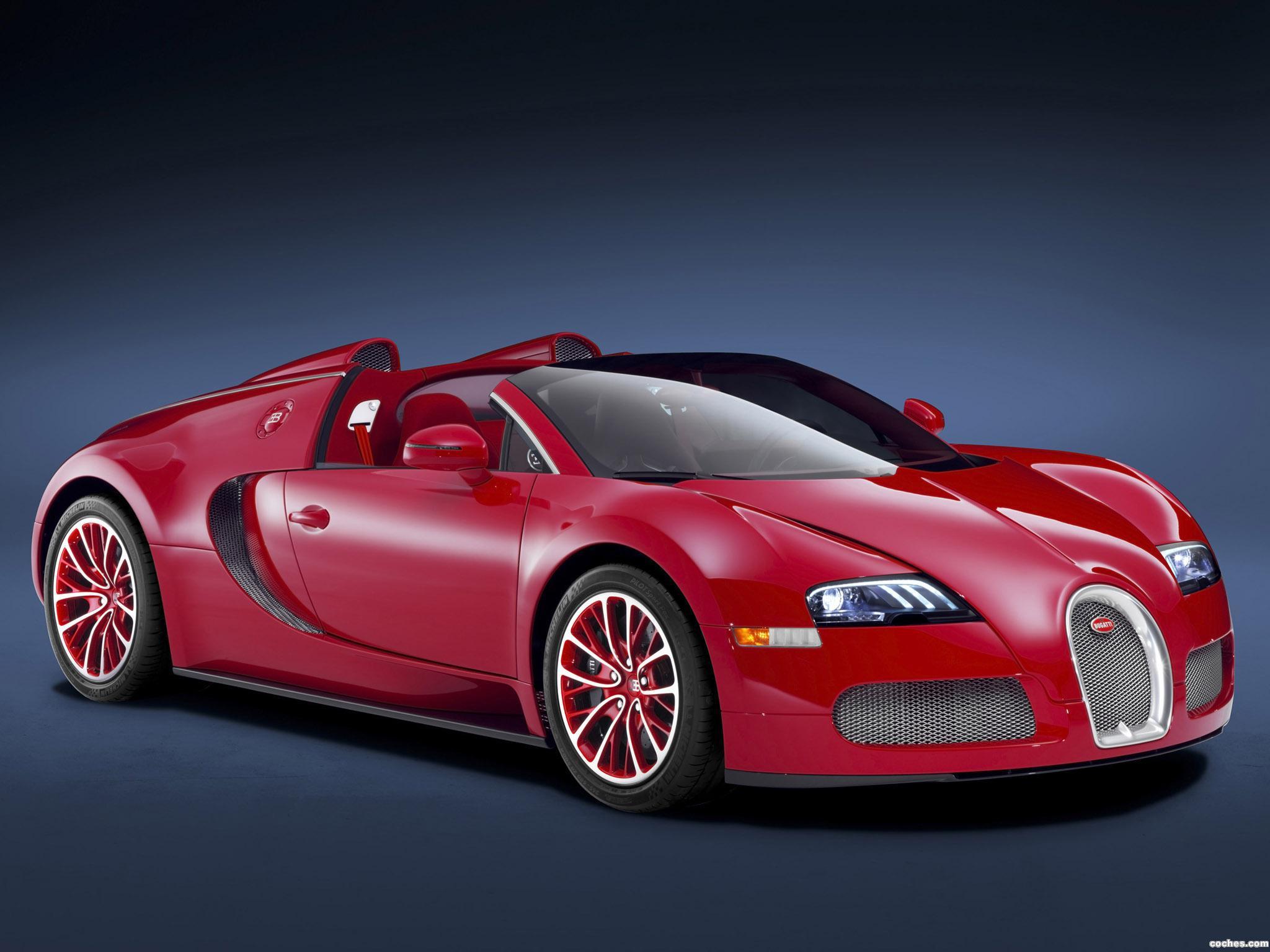 Foto 0 de Bugatti Veyron Grand Sport Scarlet 2011
