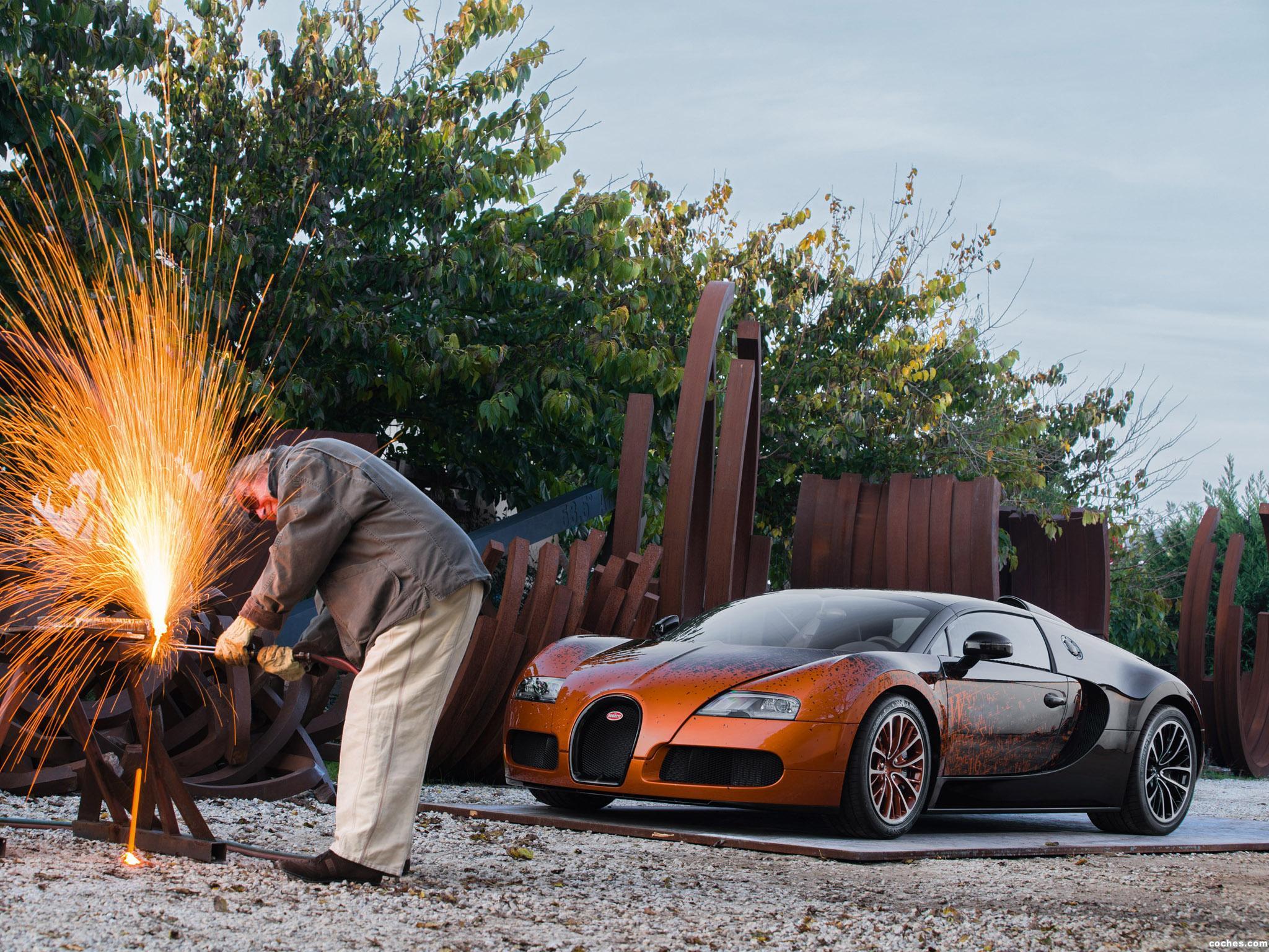 Foto 3 de Bugatti Veyron Grand Sport Venet 2012