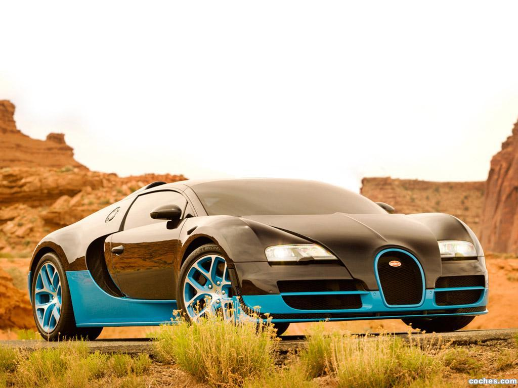 Foto 0 de Bugatti Veyron Grand Sport Vitesse Drift Transformers 4 2014