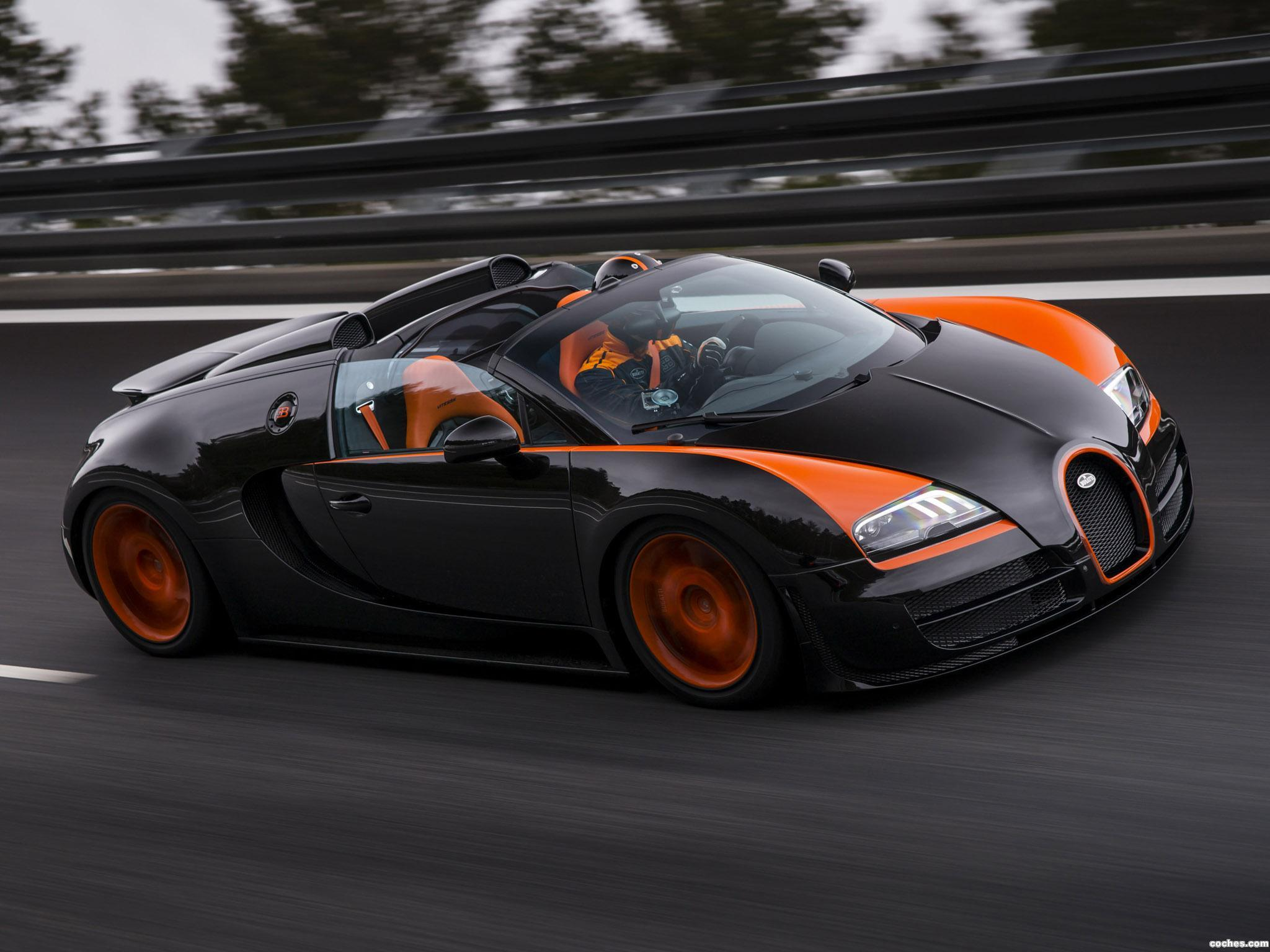 Foto 0 de Bugatti Veyron Grand Sport Vitesse World Record Car 2013