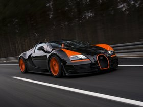 Ver foto 3 de Bugatti Veyron Grand Sport Vitesse World Record Car 2013