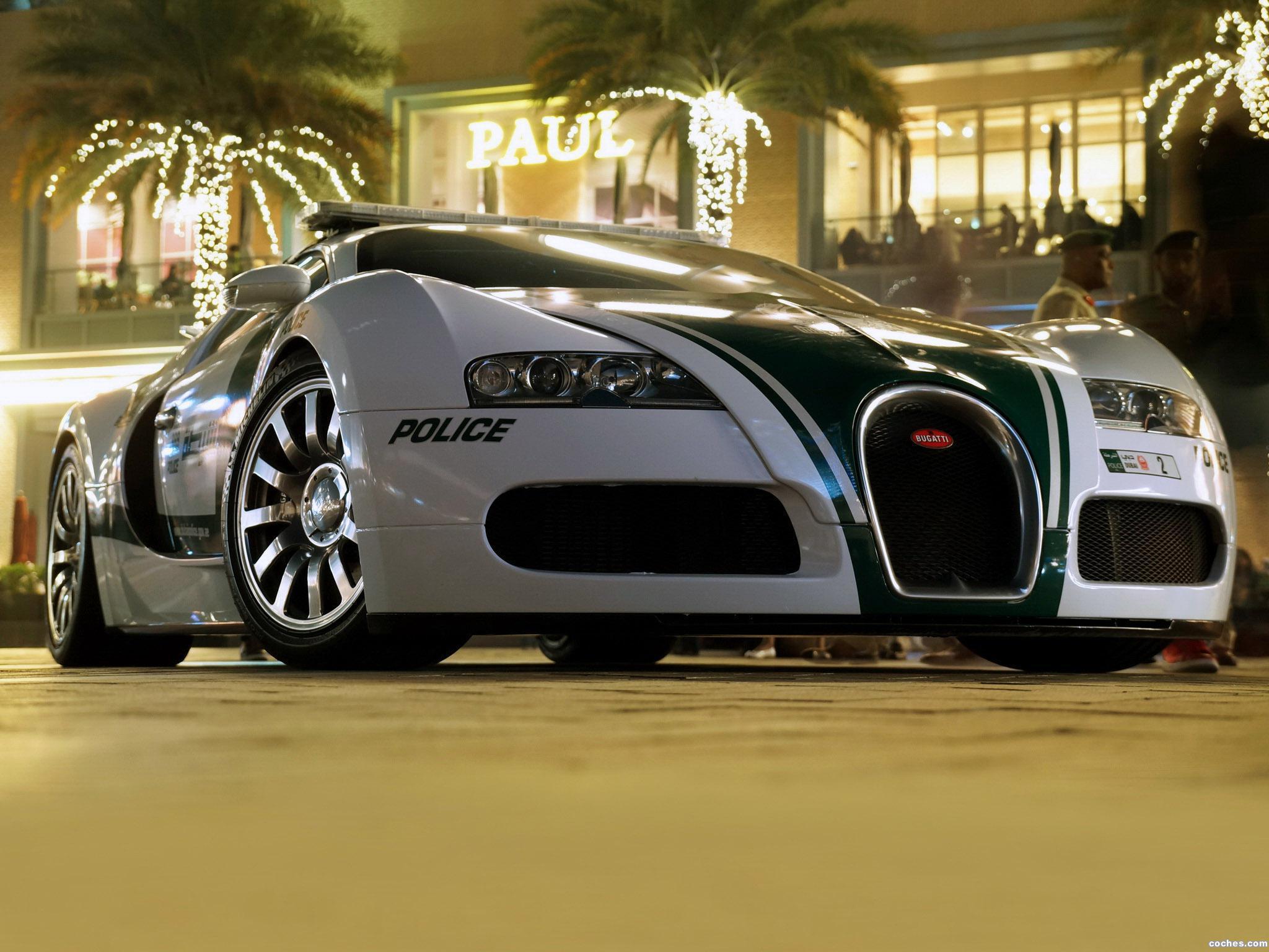 Foto 0 de Bugatti Veyron Police Car 2014