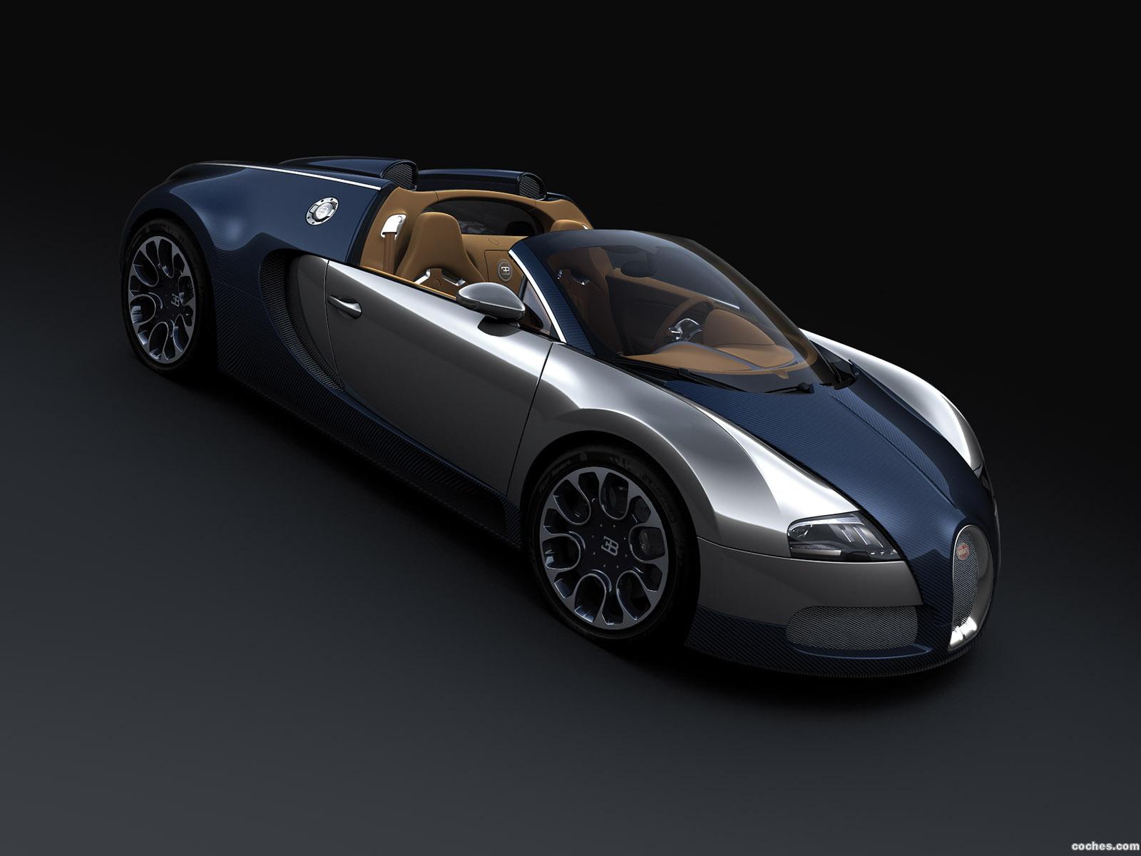 Foto 0 de Bugatti Veyron Sang Bleu Grand Sport 2009
