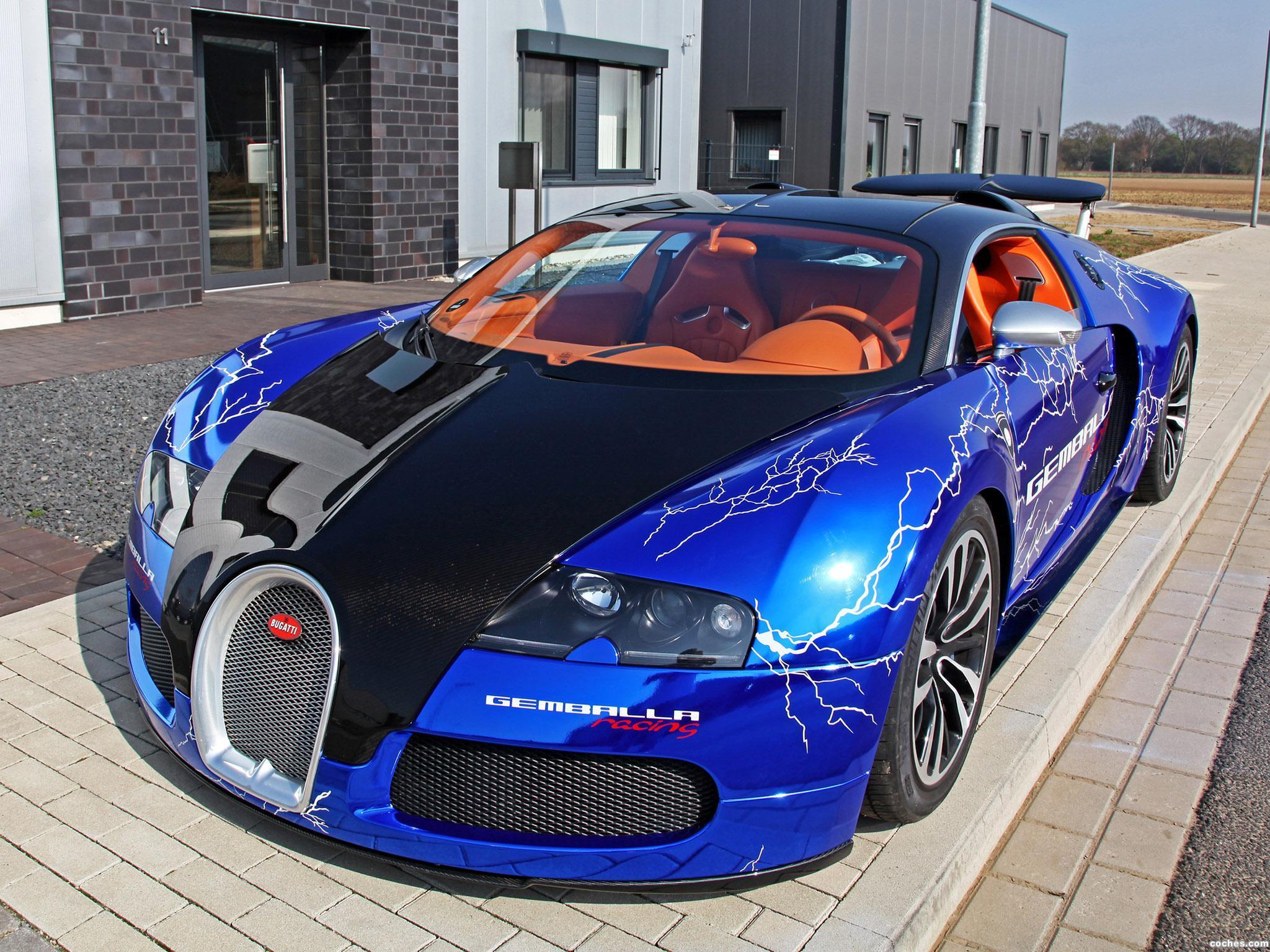 Foto 0 de Bugatti Veyron Sang Noir by Cam Shaft 2012