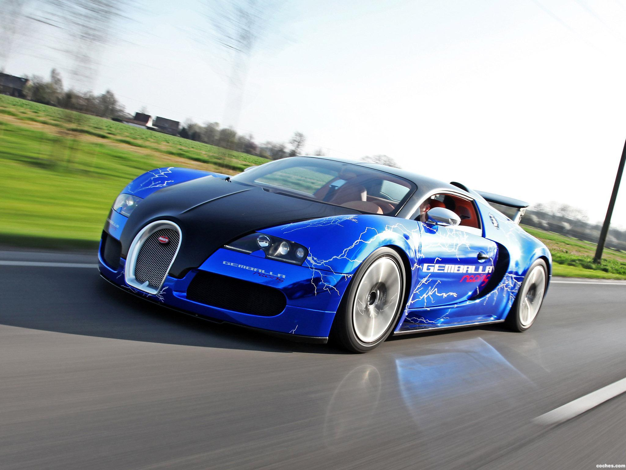 Foto 2 de Bugatti Veyron Sang Noir by Cam Shaft 2012