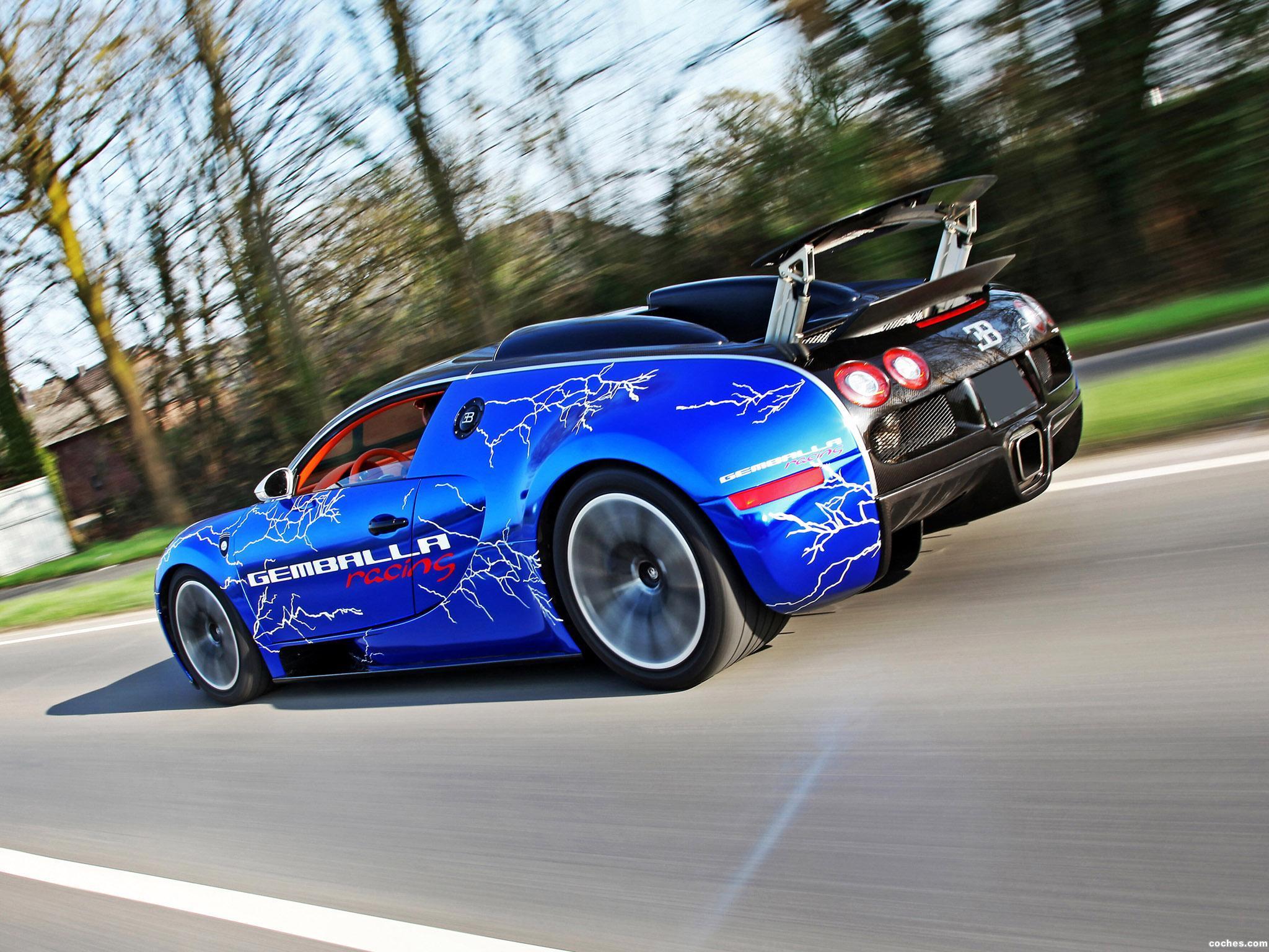 Foto 1 de Bugatti Veyron Sang Noir by Cam Shaft 2012