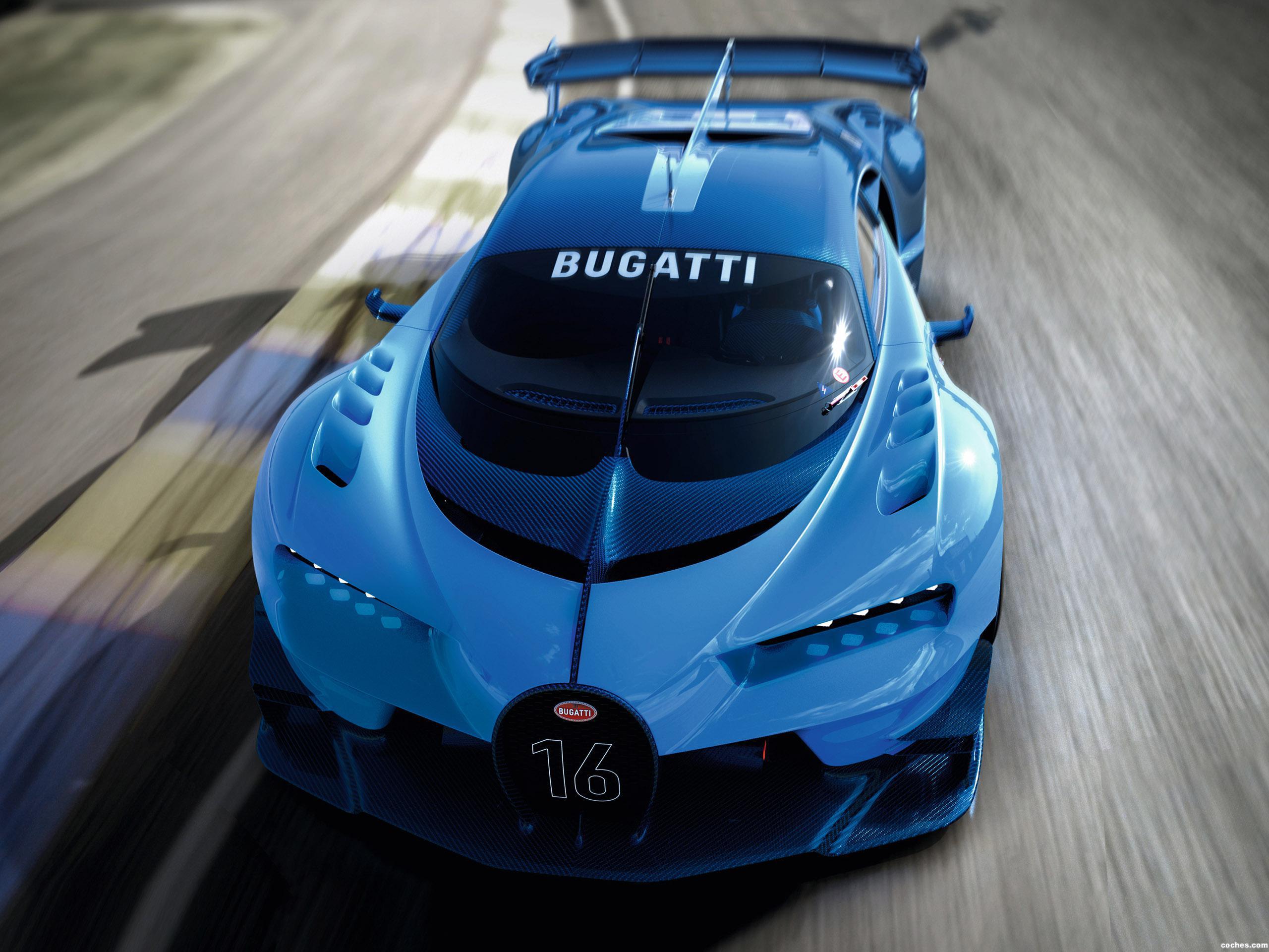 Foto 0 de Bugatti Vision Gran Turismo 2015