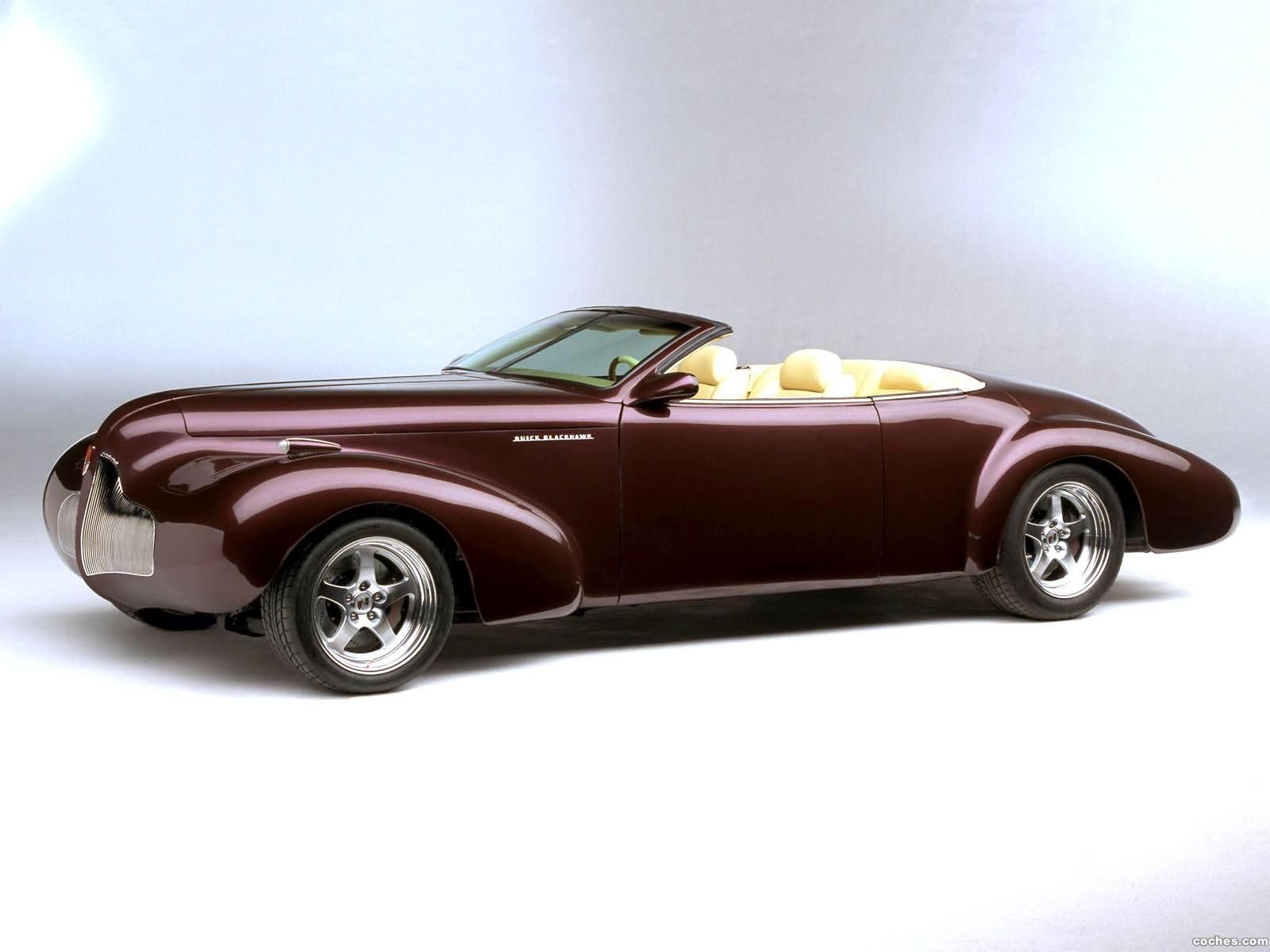 Foto 0 de Buick Blackhawk Concept 2001