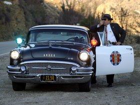 Ver foto 2 de Buick Century dos puertas Sedan Highway Patrol Police Car 1955