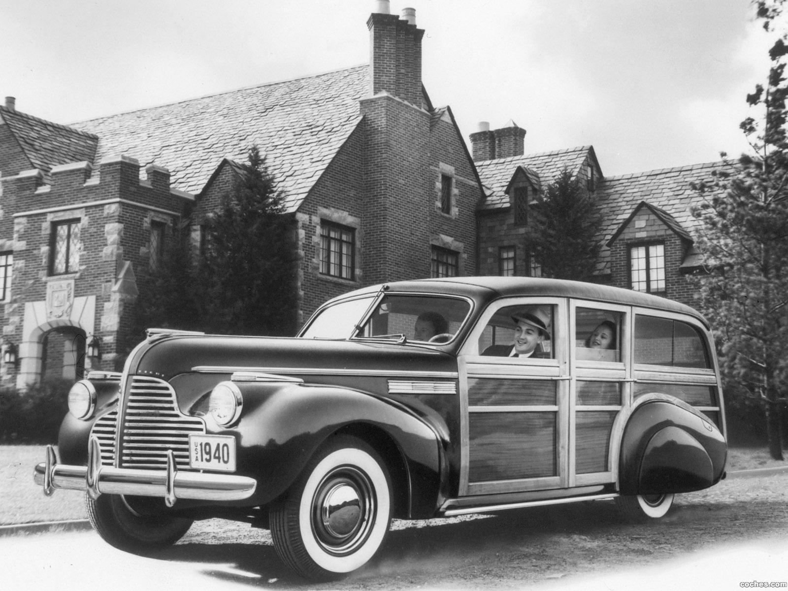 Foto 0 de Buick Super Estate Wagon 1940