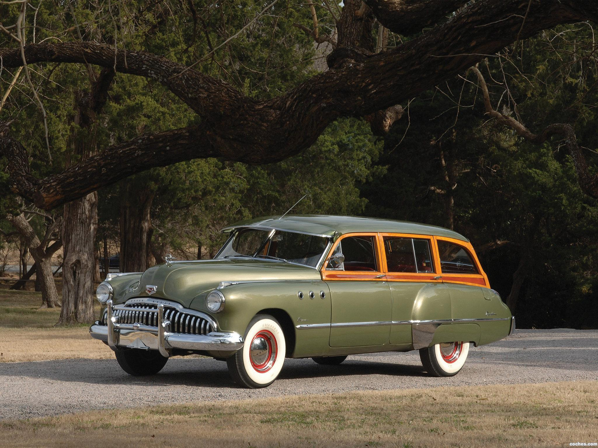 Foto 0 de Buick Super Estate Wagon 1949