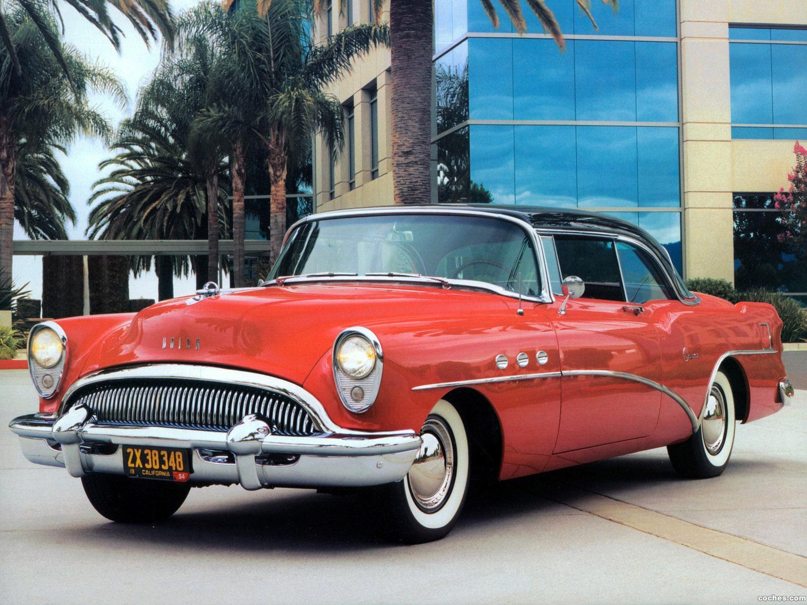 Foto 0 de Buick Super Riviera Coupe 1954