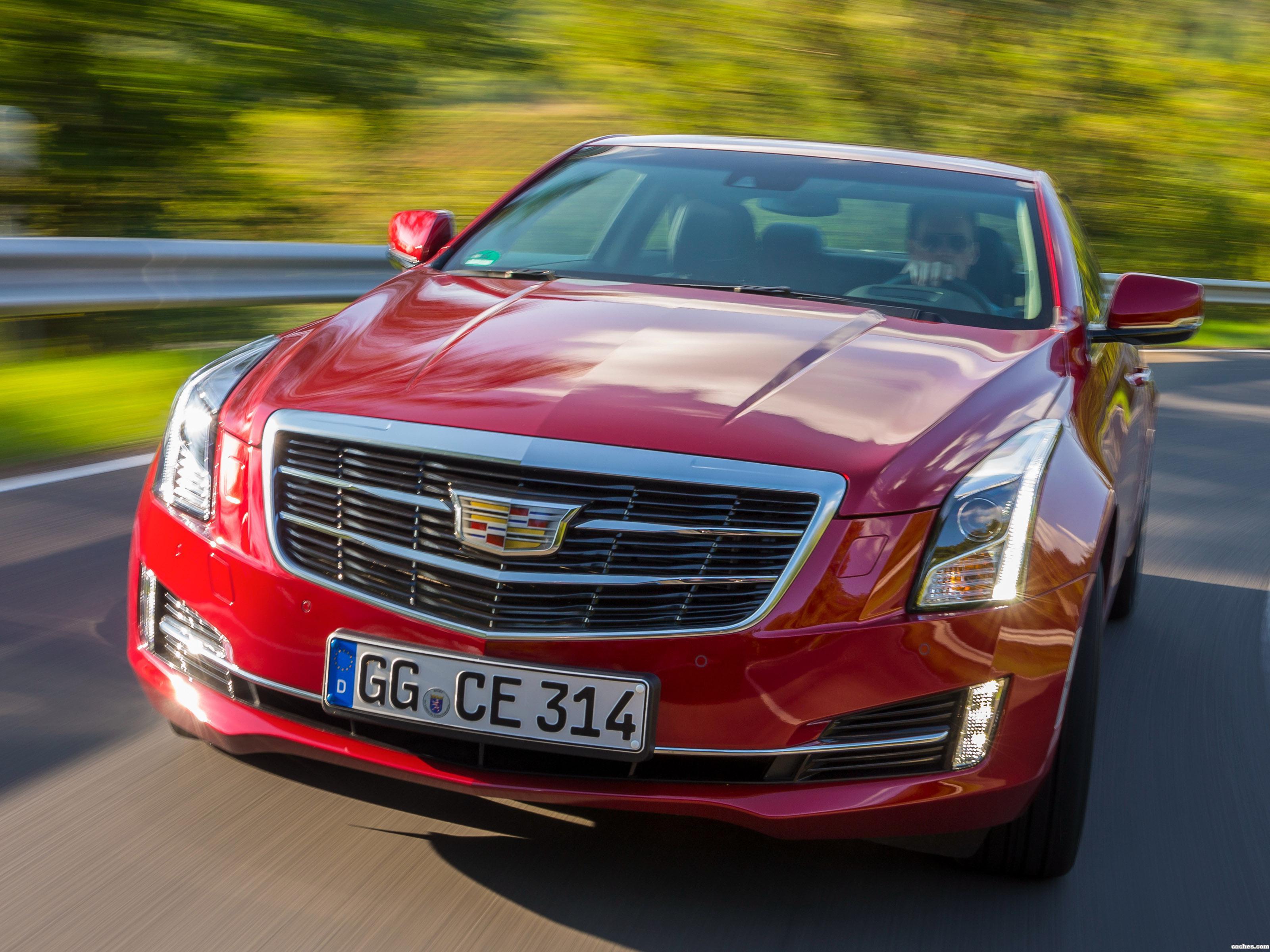 Foto 0 de Cadillac ATS Coupe Europe 2014