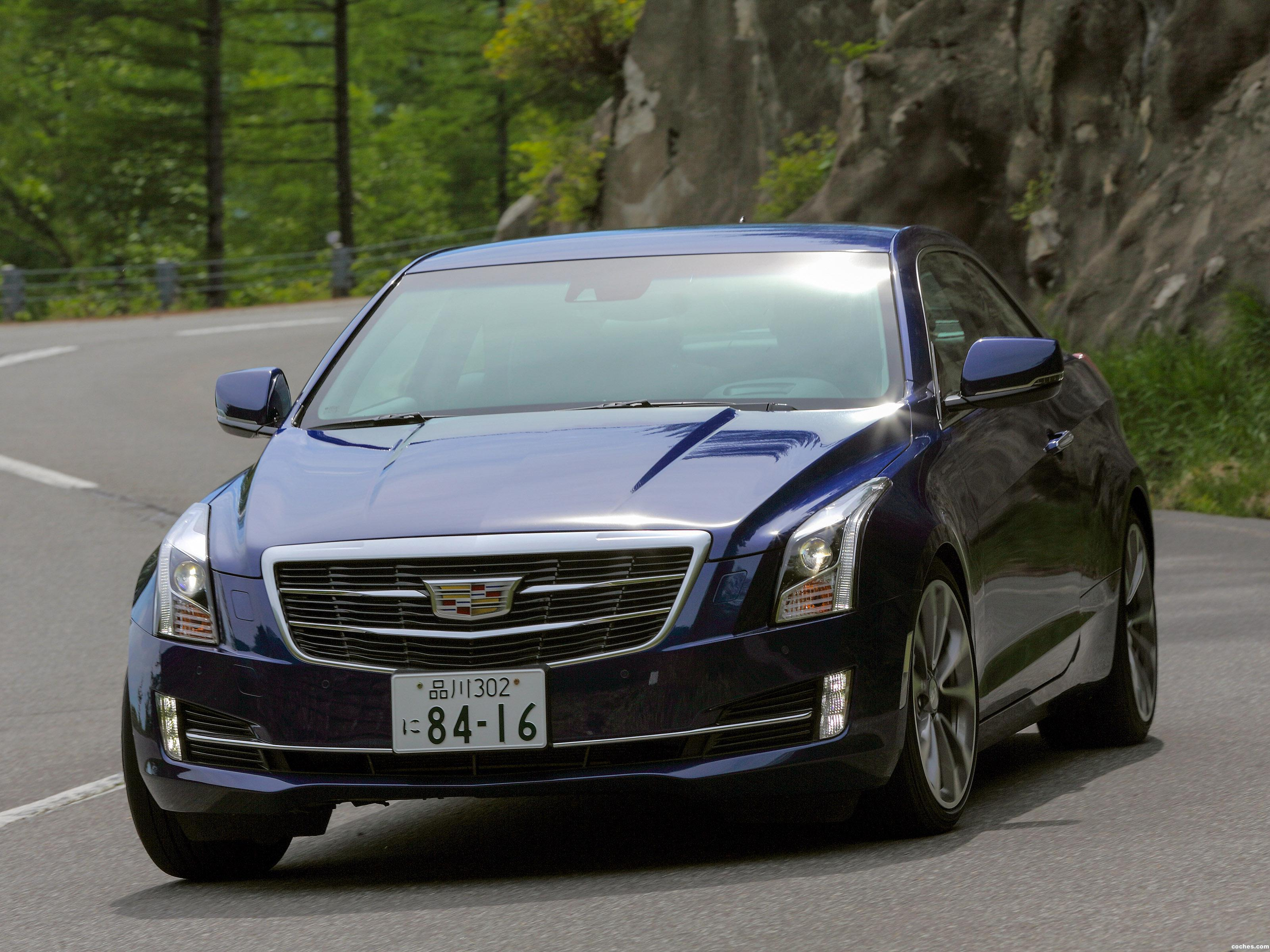 Foto 0 de Cadillac ATS Coupe Japan 2014