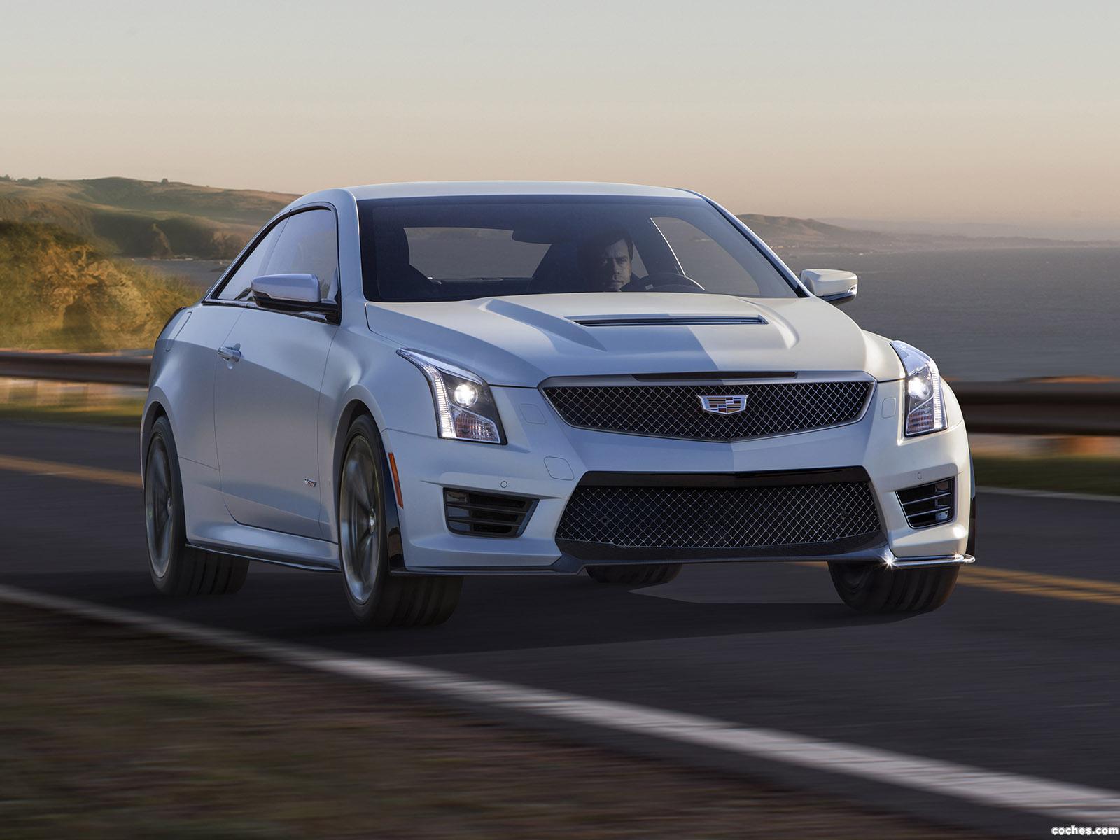 Foto 0 de Cadillac ATS-V Coupe 2015