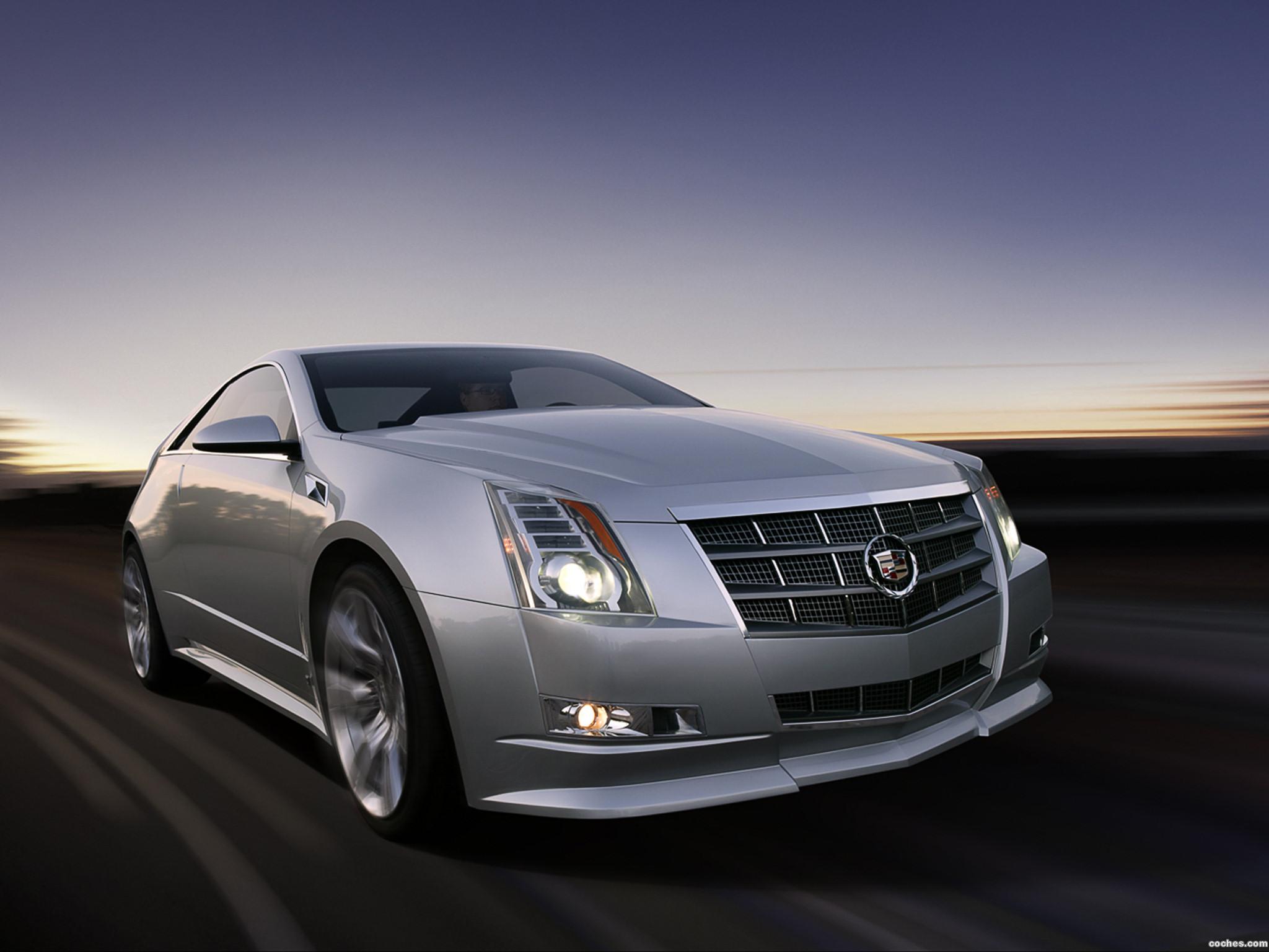 Foto 0 de Cadillac CTS Coupe Concept 2008