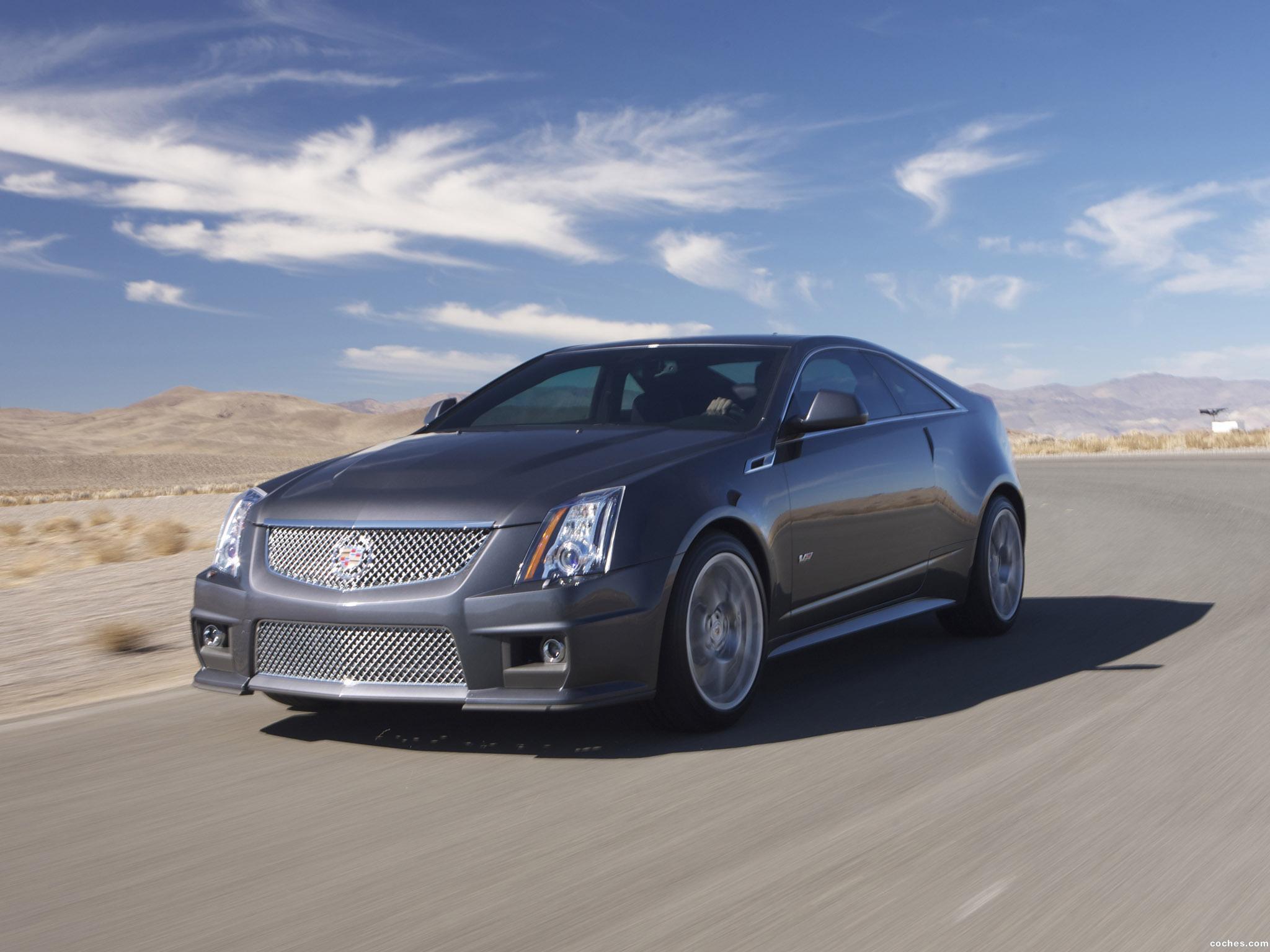 Foto 0 de Cadillac CTS-V Coupe 2011