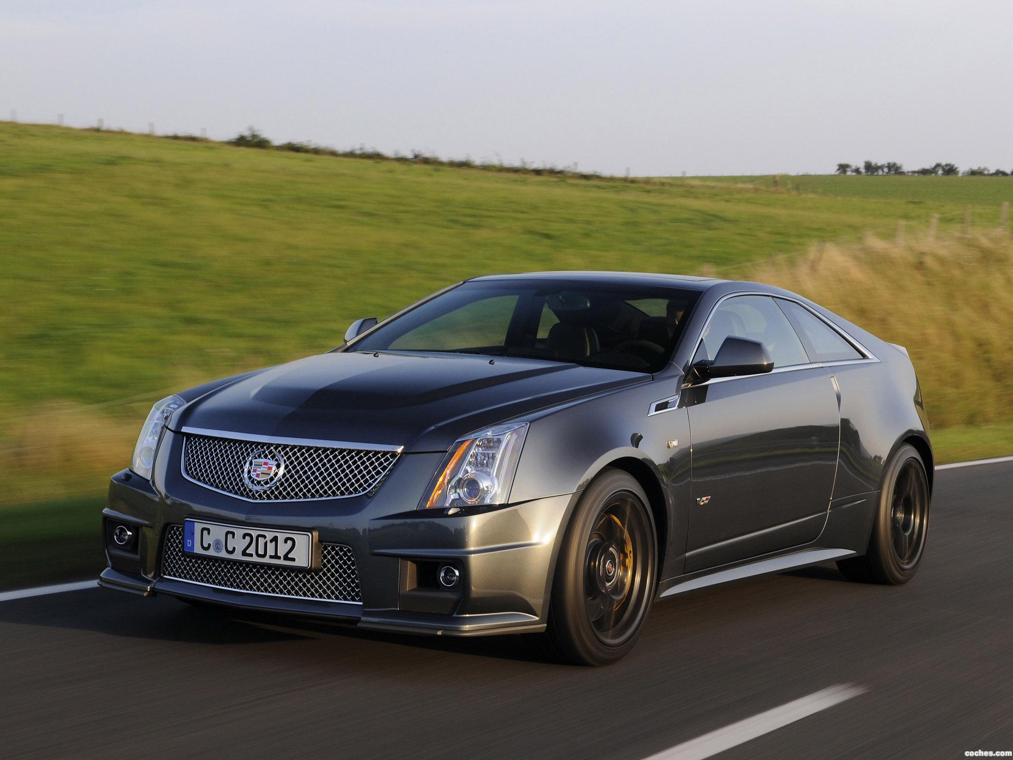 fotos de cadillac cts v coupe black diamond 2011. Black Bedroom Furniture Sets. Home Design Ideas