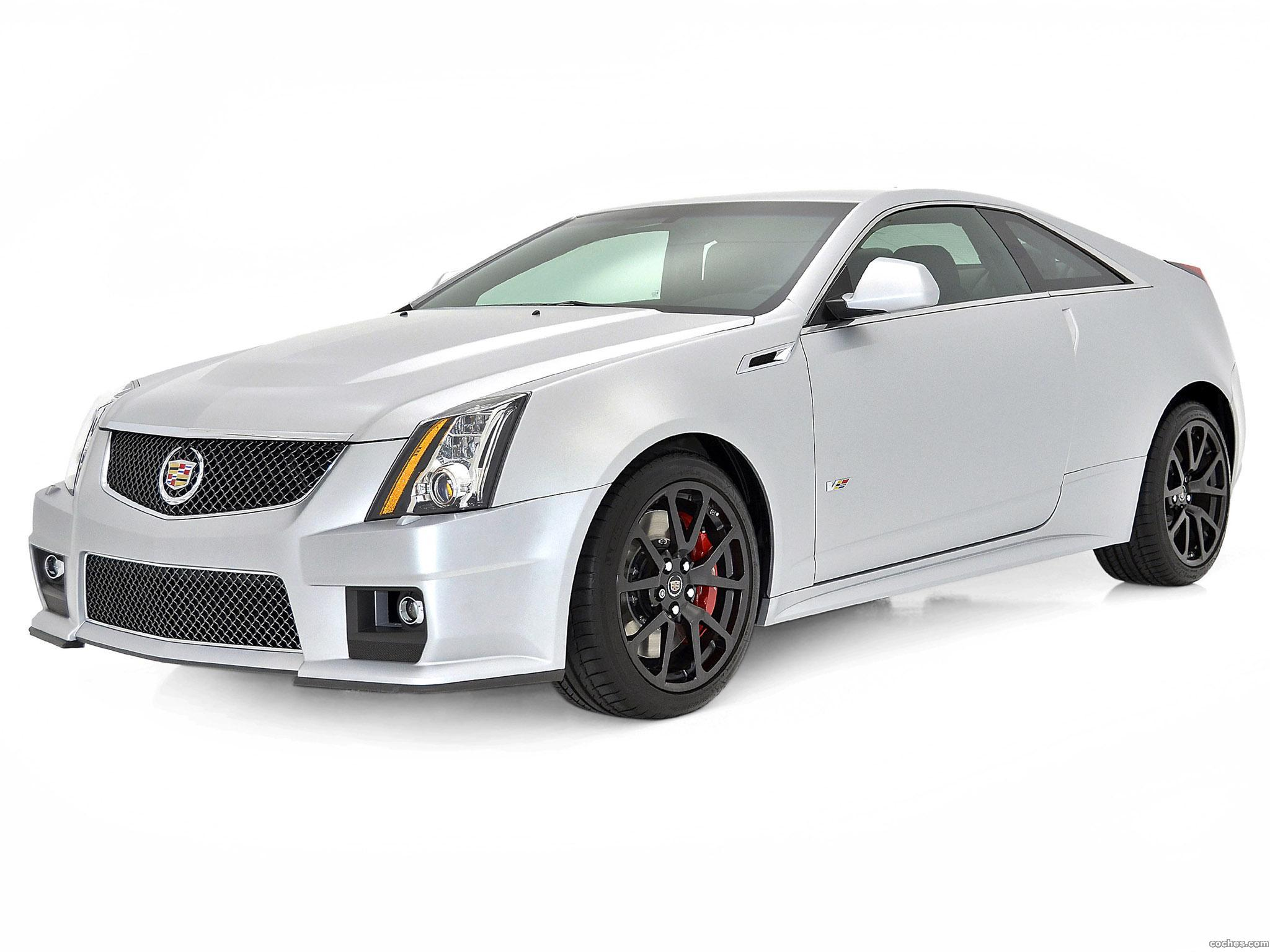 Foto 0 de Cadillac CTS-V Coupe Silver Frost Edition 2013