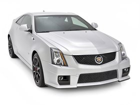 Ver foto 3 de Cadillac CTS-V Coupe Silver Frost Edition 2013