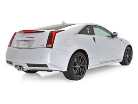 Ver foto 2 de Cadillac CTS-V Coupe Silver Frost Edition 2013