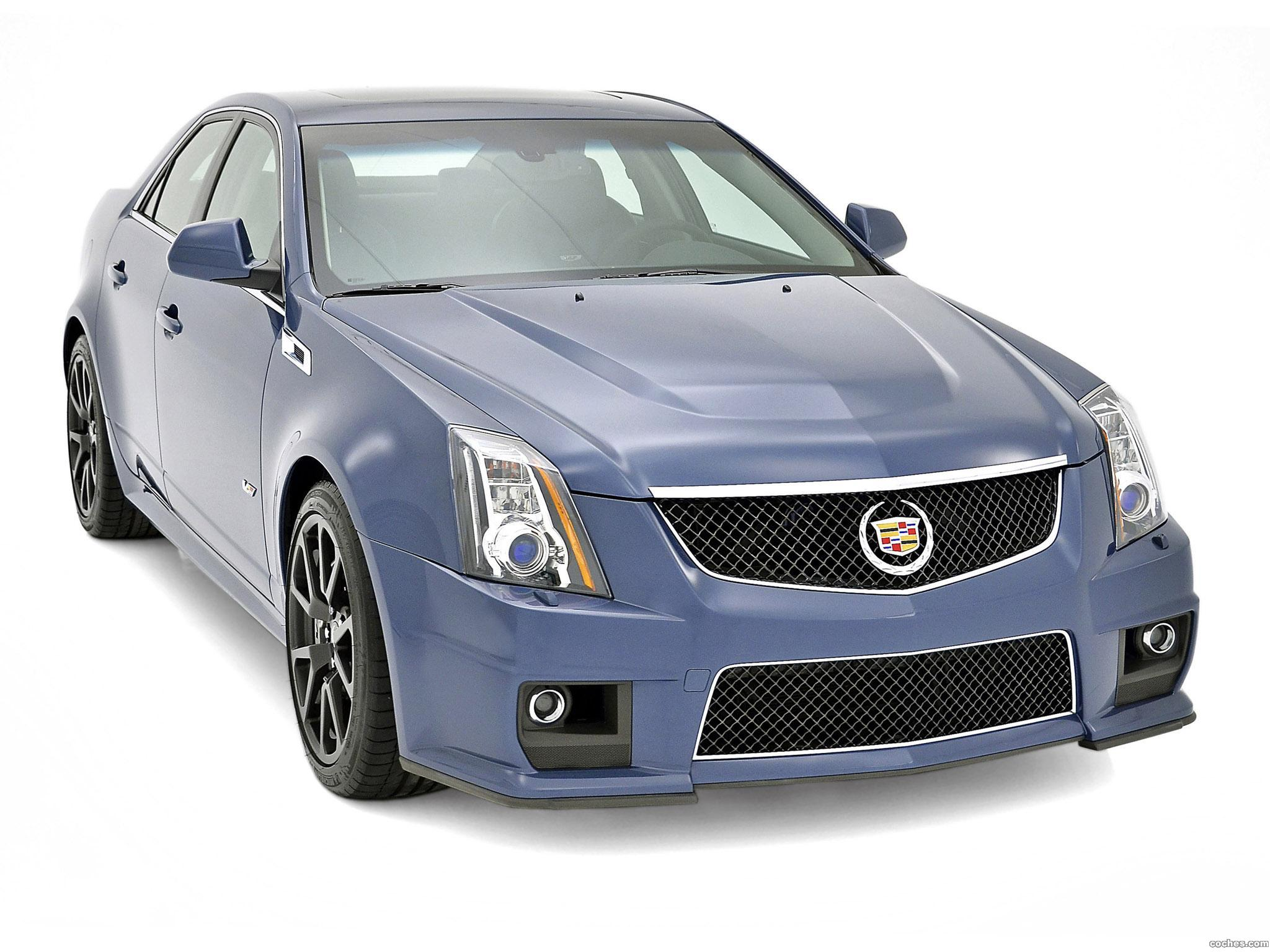 Foto 0 de Cadillac CTS-V Stealth Blue Edition 2013