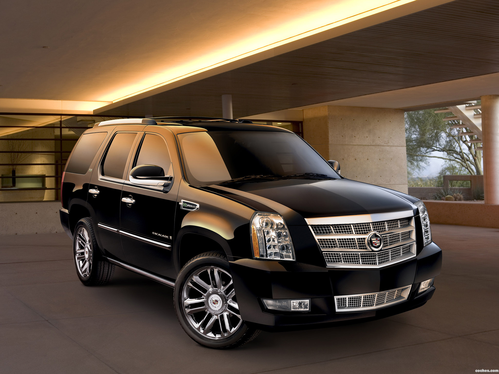 Foto 0 de Cadillac Escalade Platinum Hybrid 2009