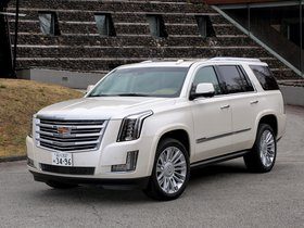 Fotos de Cadillac Escalade Platinum Japan 2015