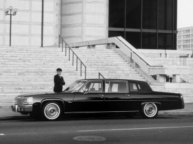 Ver foto 2 de Cadillac Fleetwood Brougham Limousine 1981