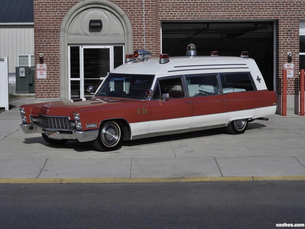 Foto 0 de Cadillac Miller-Meteor Classic 48 Ambulance 1968