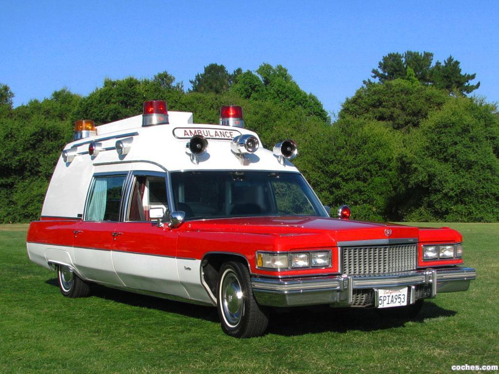 Foto 0 de Cadillac Miller-Meteor Criterion Ambulance 1975