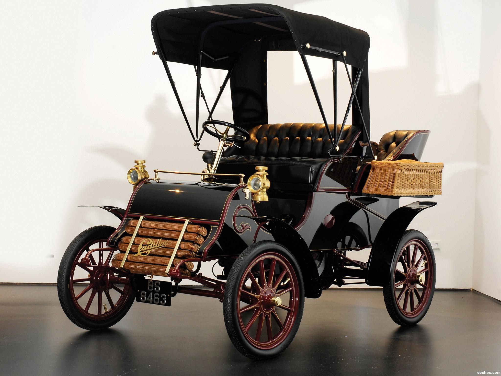 Foto 0 de Cadillac Model-A Runabout 1903