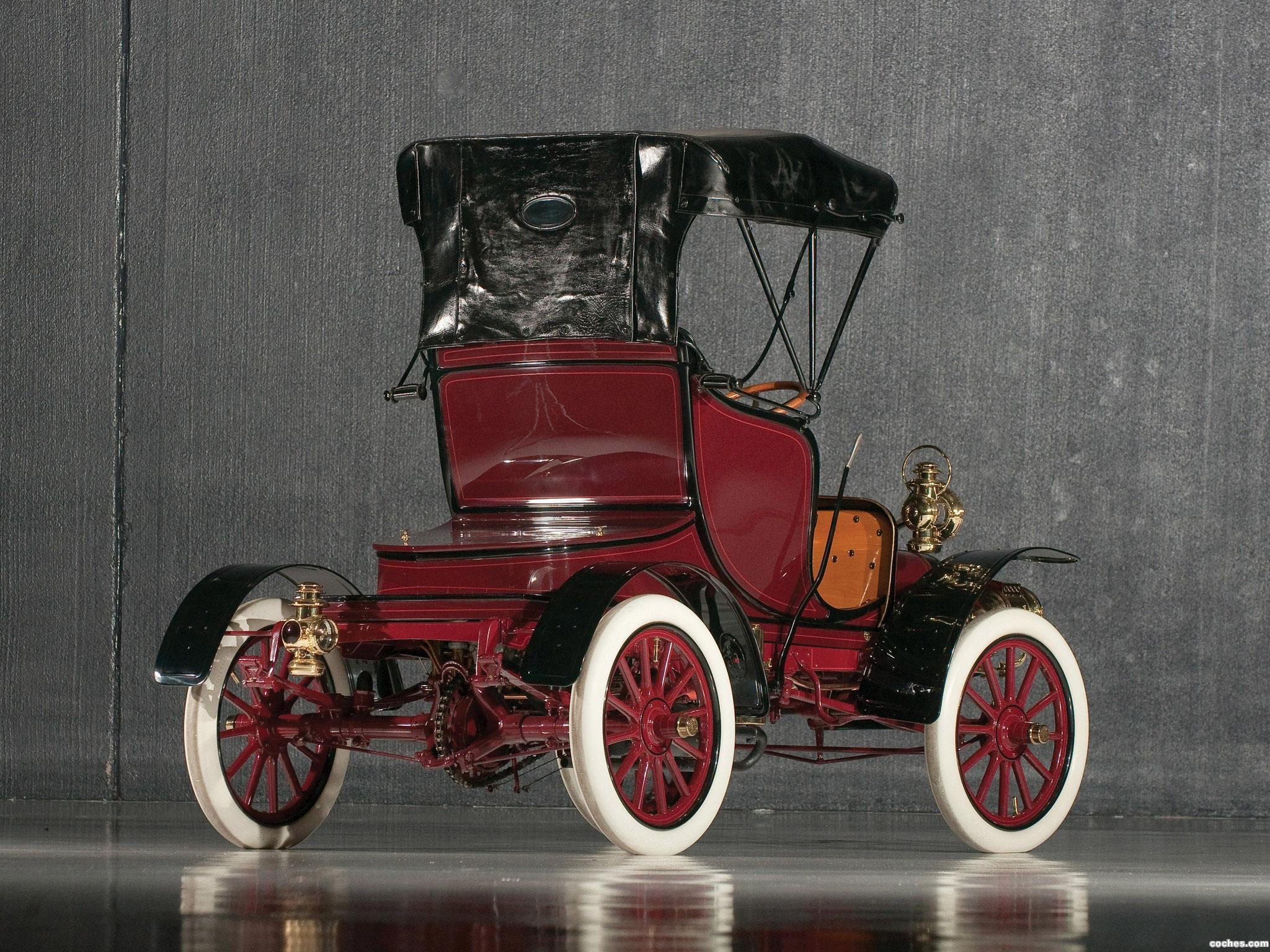 1906 Cadillac Model K: Fotos De Cadillac Model-K Light Runabout 1906
