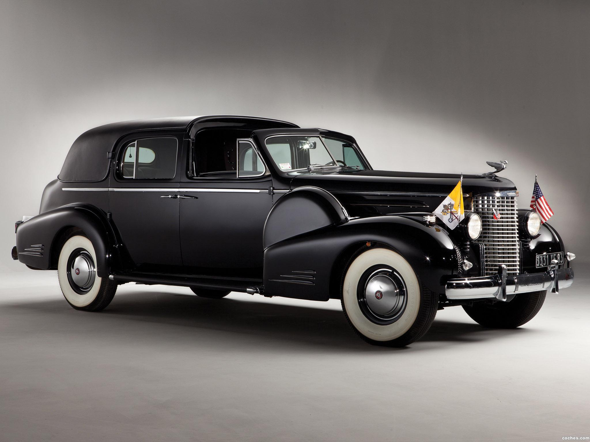 Foto 0 de Cadillac Sixteen V16 Series 90 Ceremonial Town Car by Fleetwood 1938