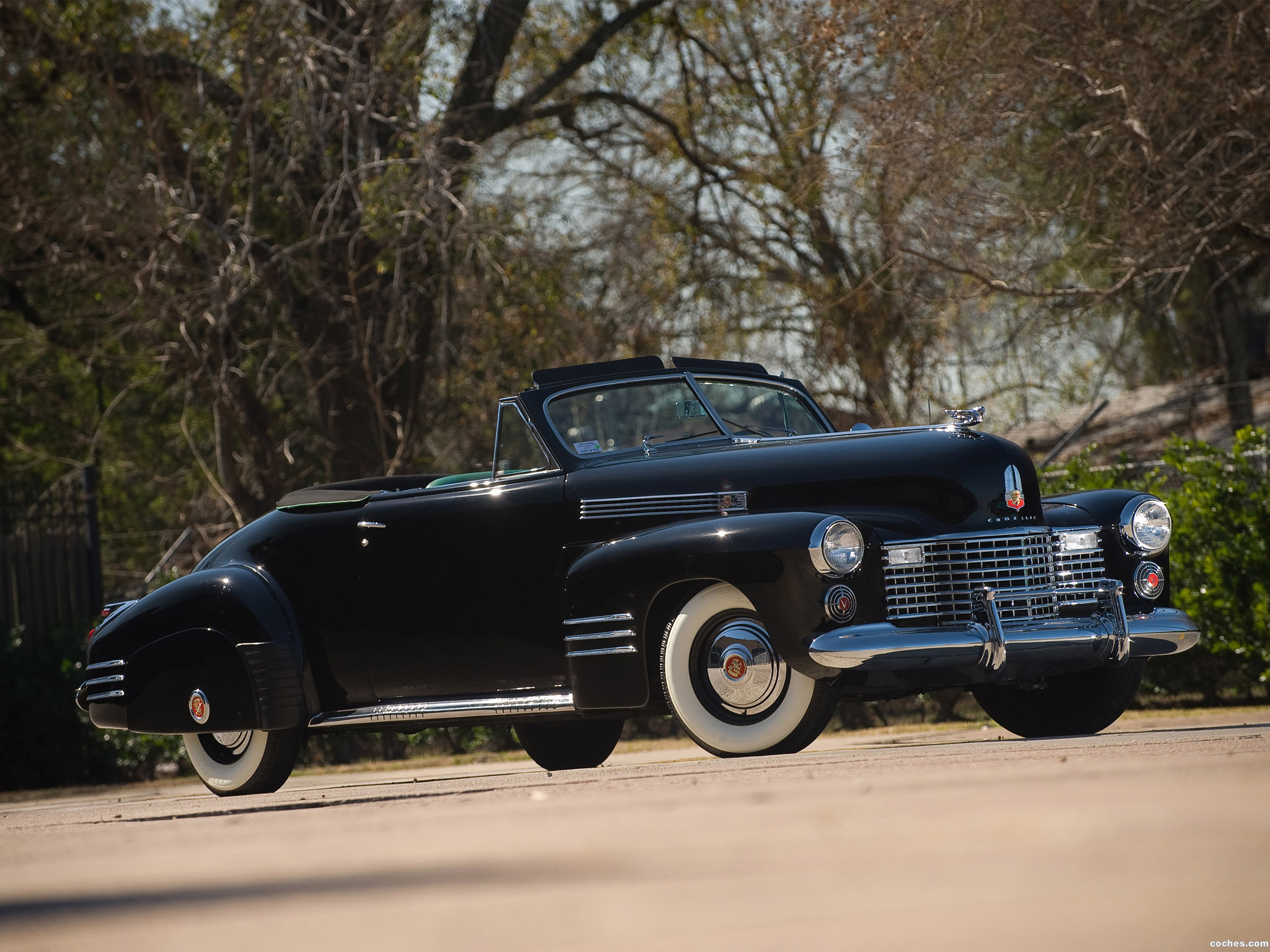 Foto 0 de Cadillac SixtyTwo Convertible Coupe by Fleetwood 1941