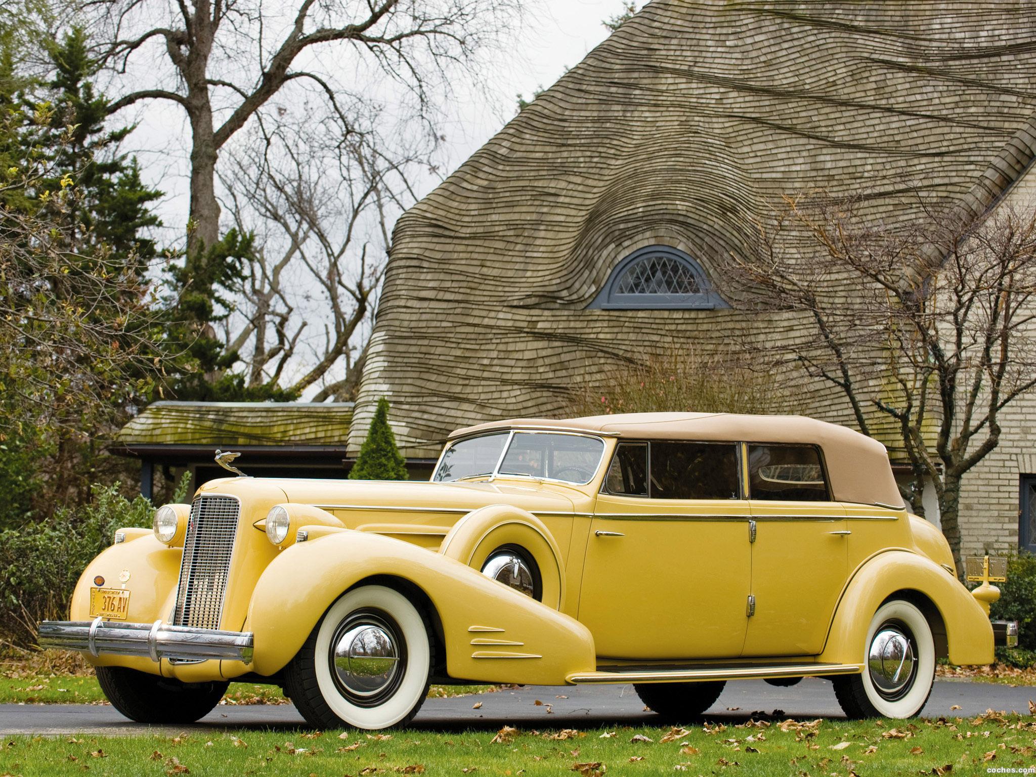Foto 0 de Cadillac V16 452 D Imperial Convertible 1935