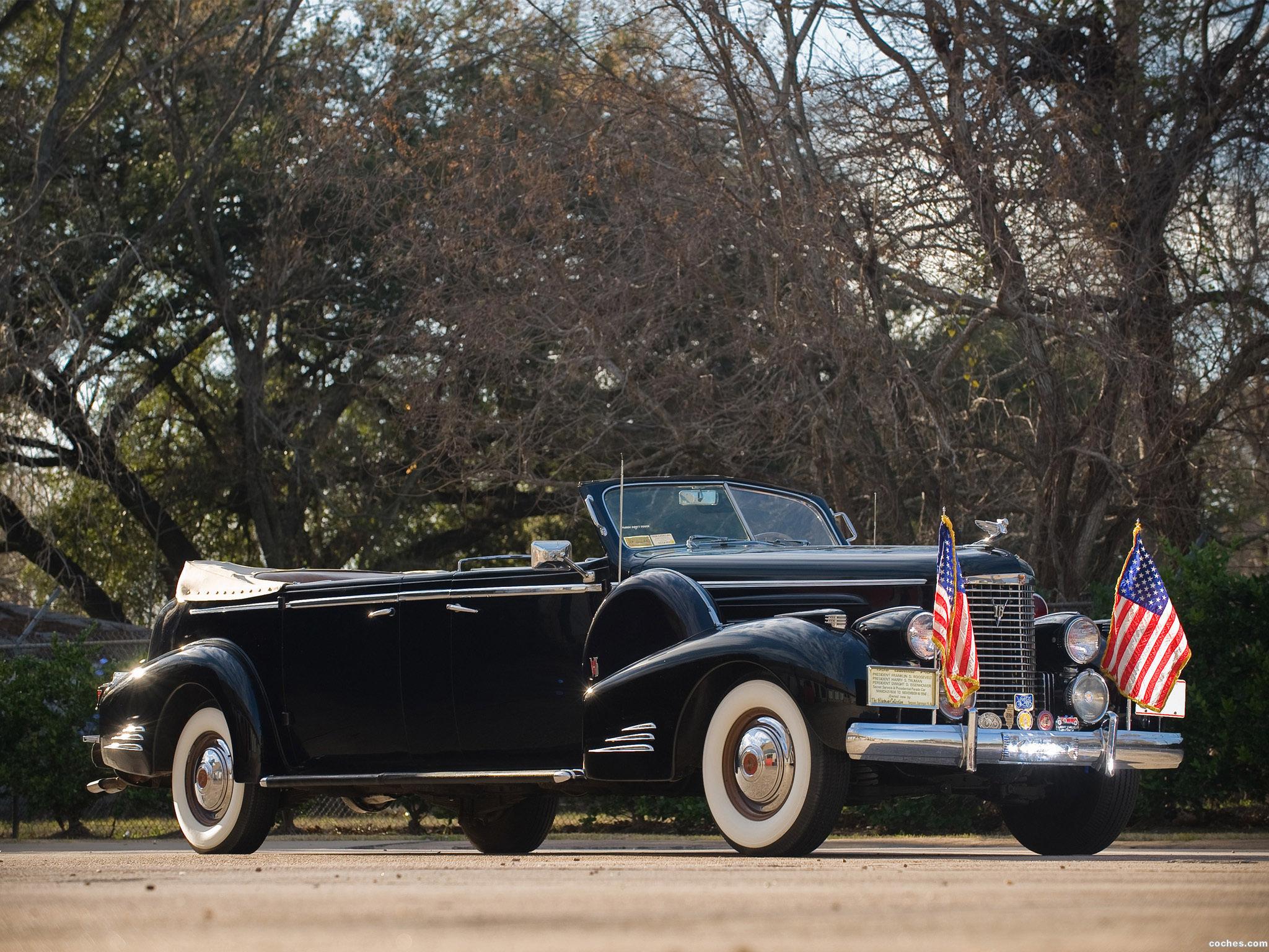 Foto 0 de Cadillac V16 Presidential Convertible Limousine 1938