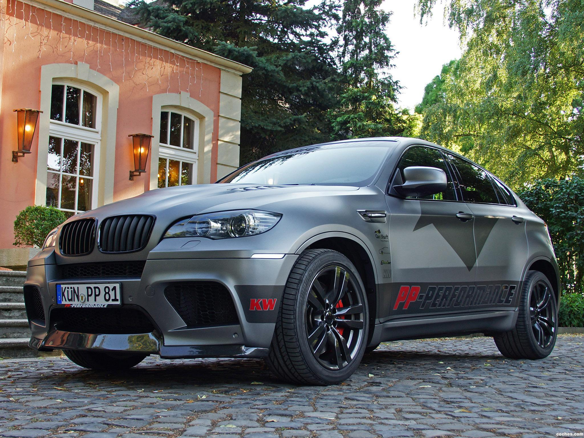 Foto 6 de CAM Shaft BMW X6 M Performance 2013