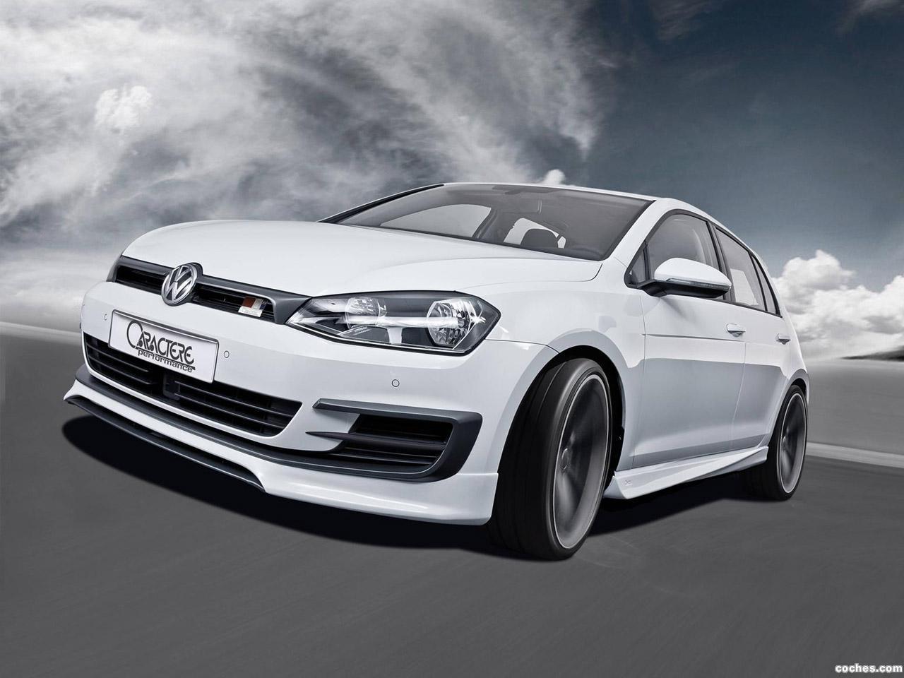 Foto 0 de Caractere Volkswagen Golf GTI 2014