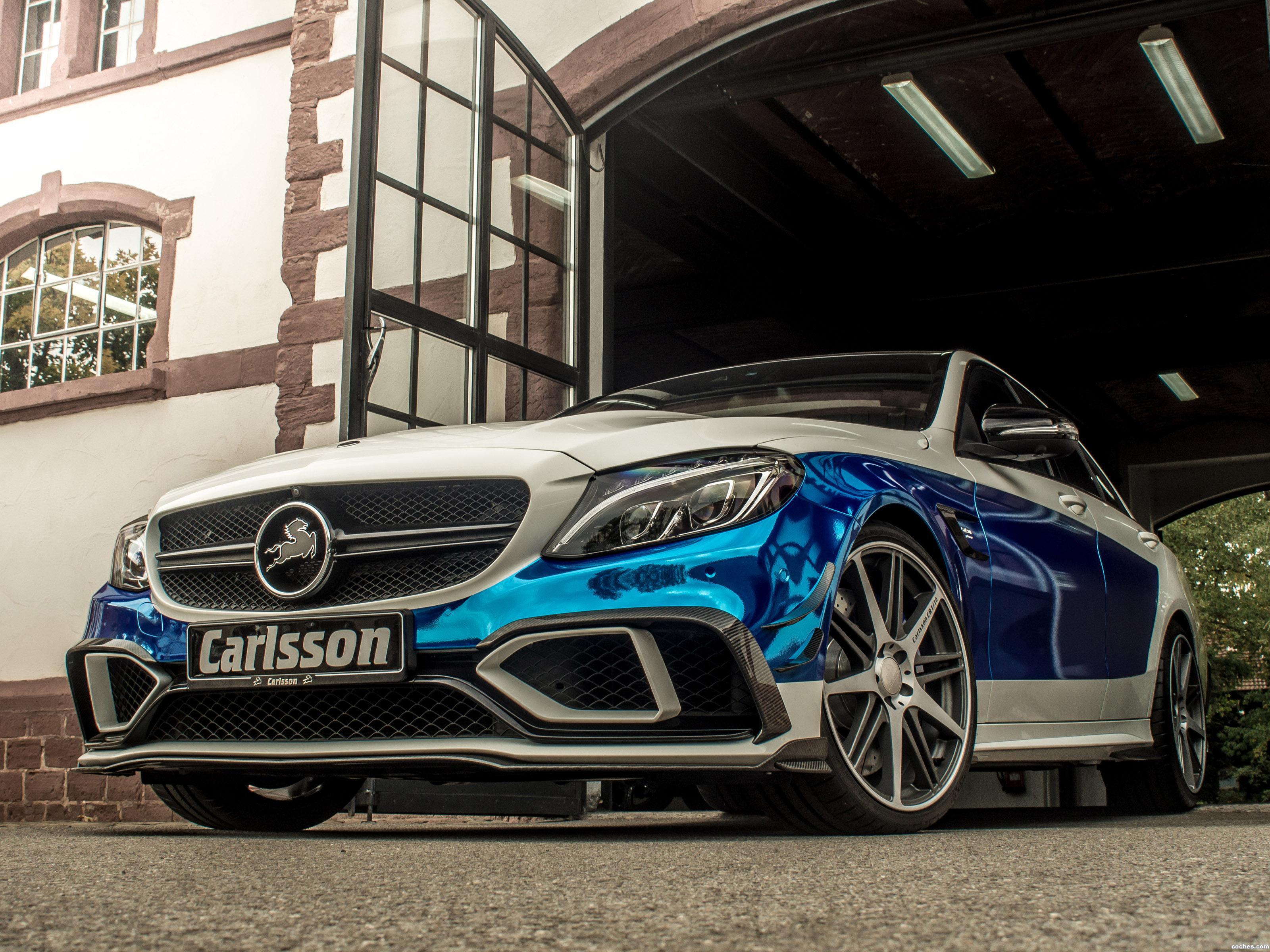 Foto 0 de Carlsson Mercedes CC63S Rivage W205 2015
