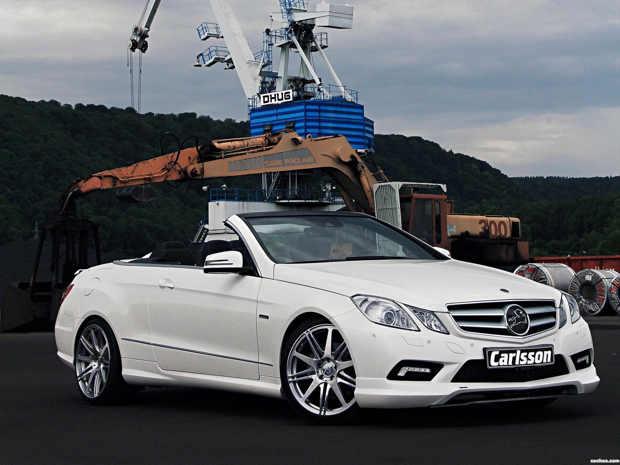 Foto 1 de Mercedes Carlsson Clase E Cabrio A207 2010