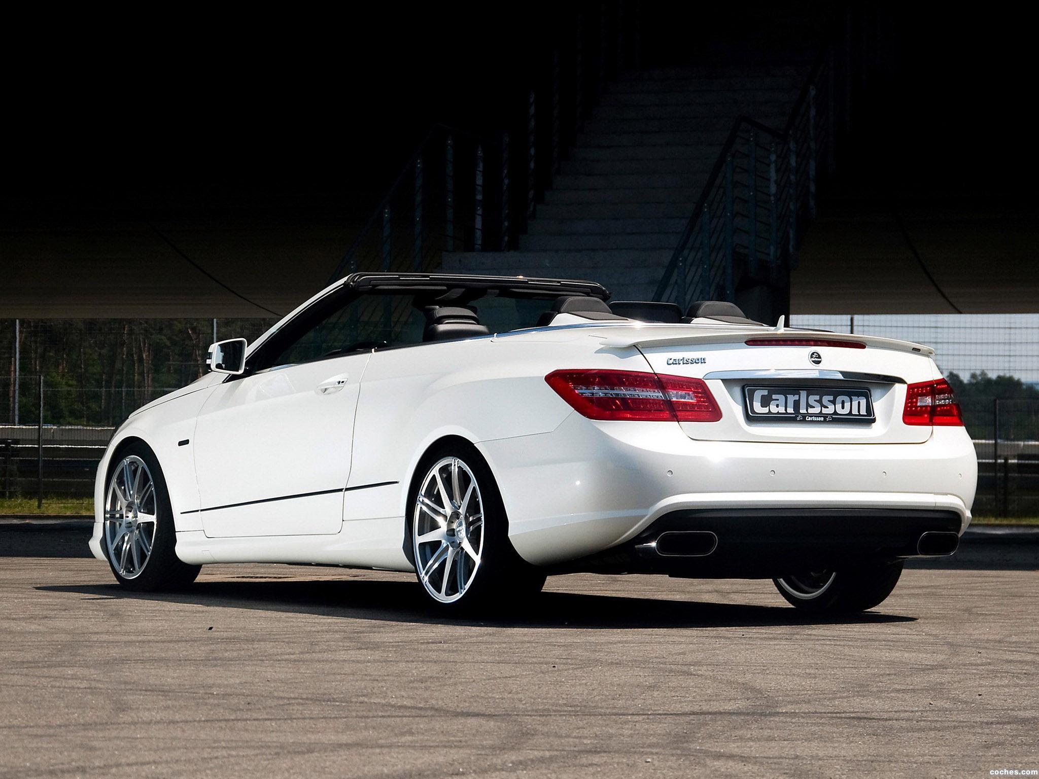 Foto 8 de Mercedes Carlsson Clase E Cabrio A207 2010