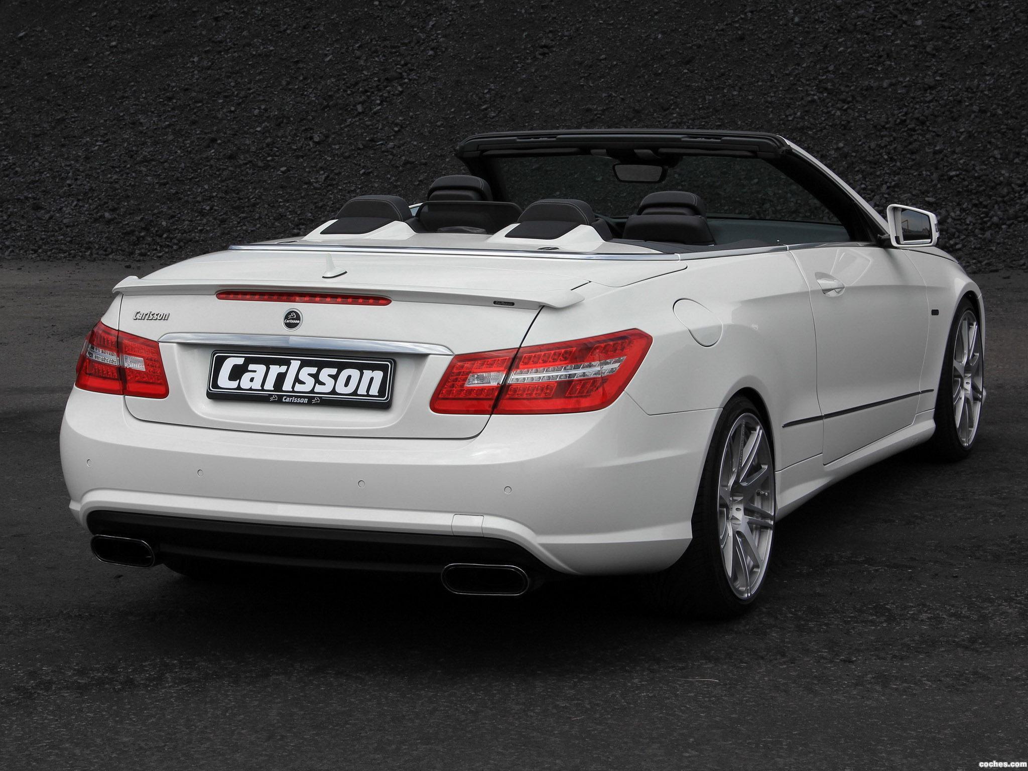 Foto 7 de Mercedes Carlsson Clase E Cabrio A207 2010