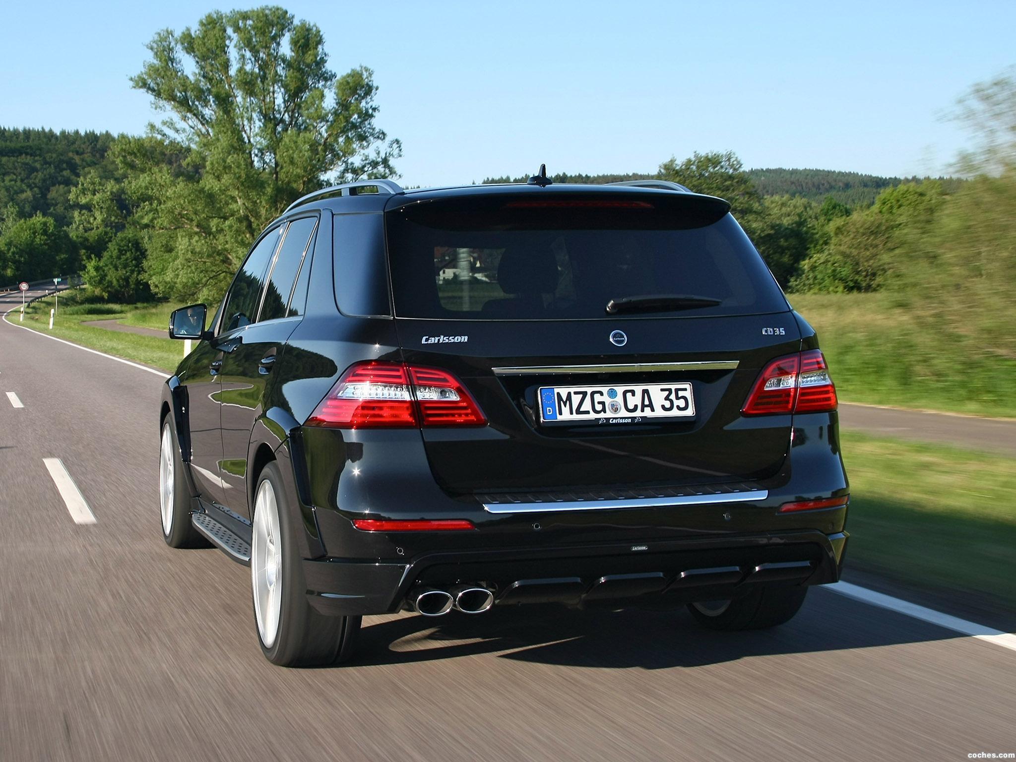 Foto 3 de Carlsson Mercedes Clase M CML35 2012