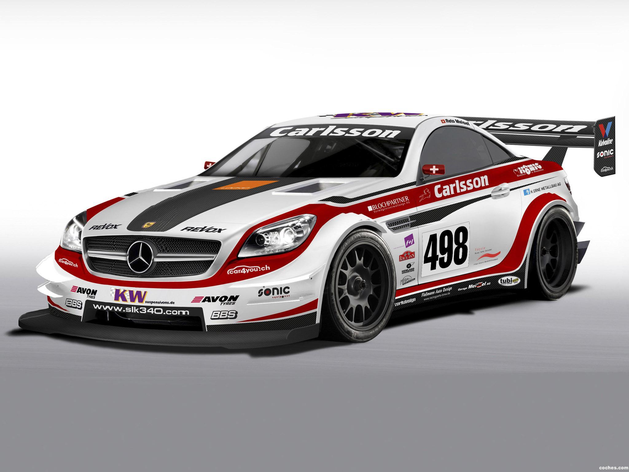 Foto 0 de Mercedes Clase SLK Race Car 2013