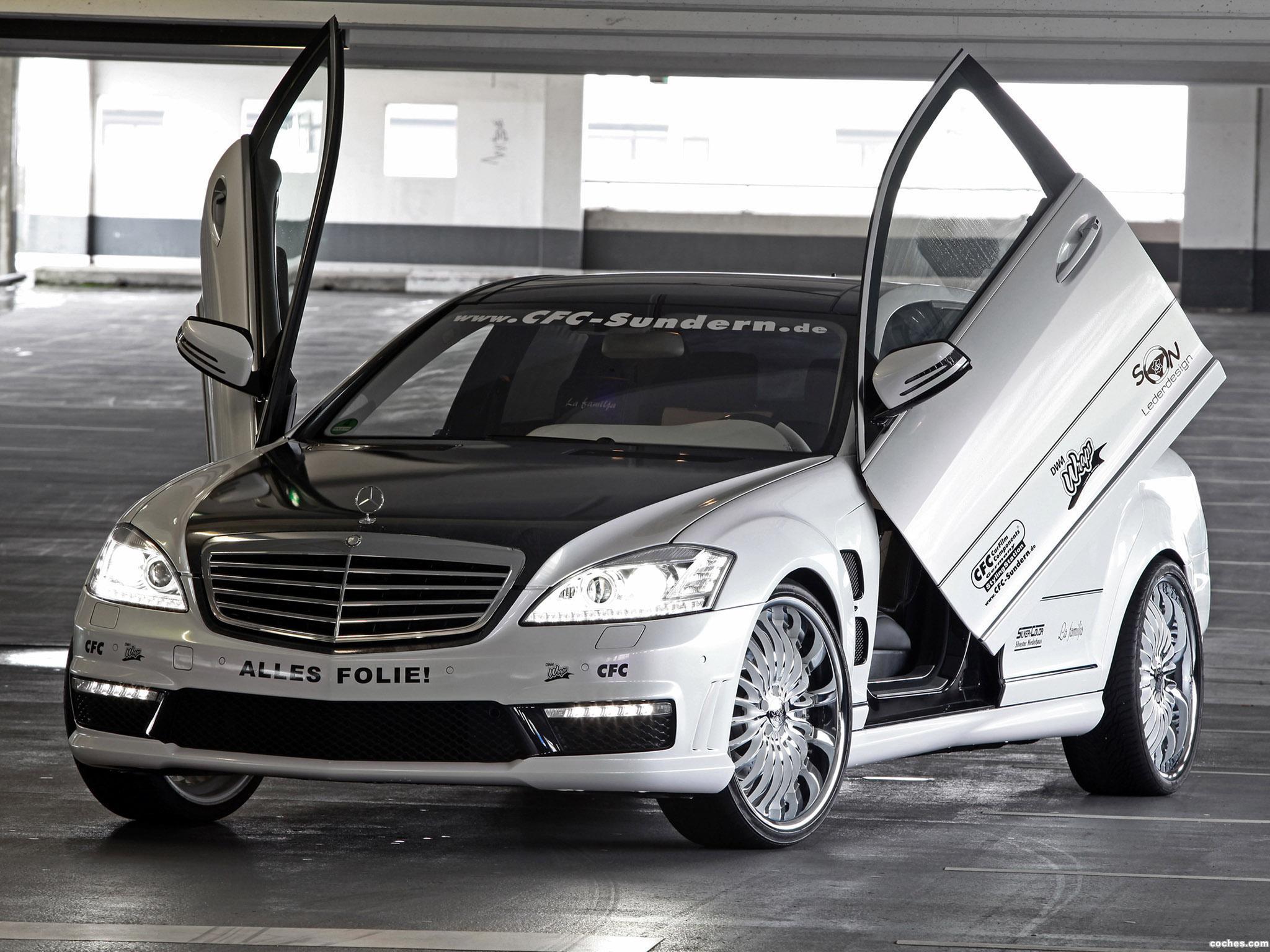 Foto 0 de CFC Mercedes Clase S S65 AMG W221 2012
