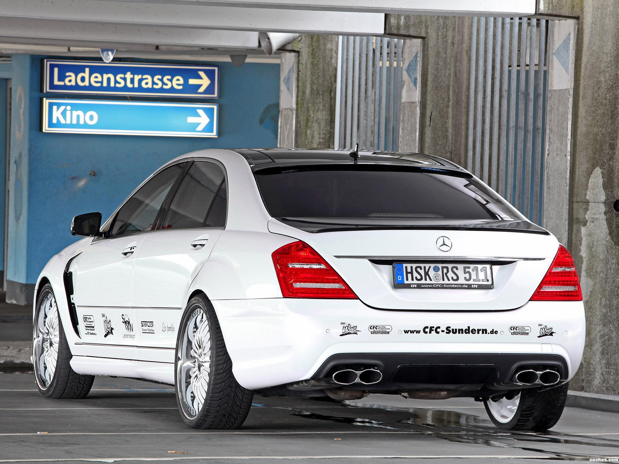 Foto 5 de CFC Mercedes Clase S S65 AMG W221 2012