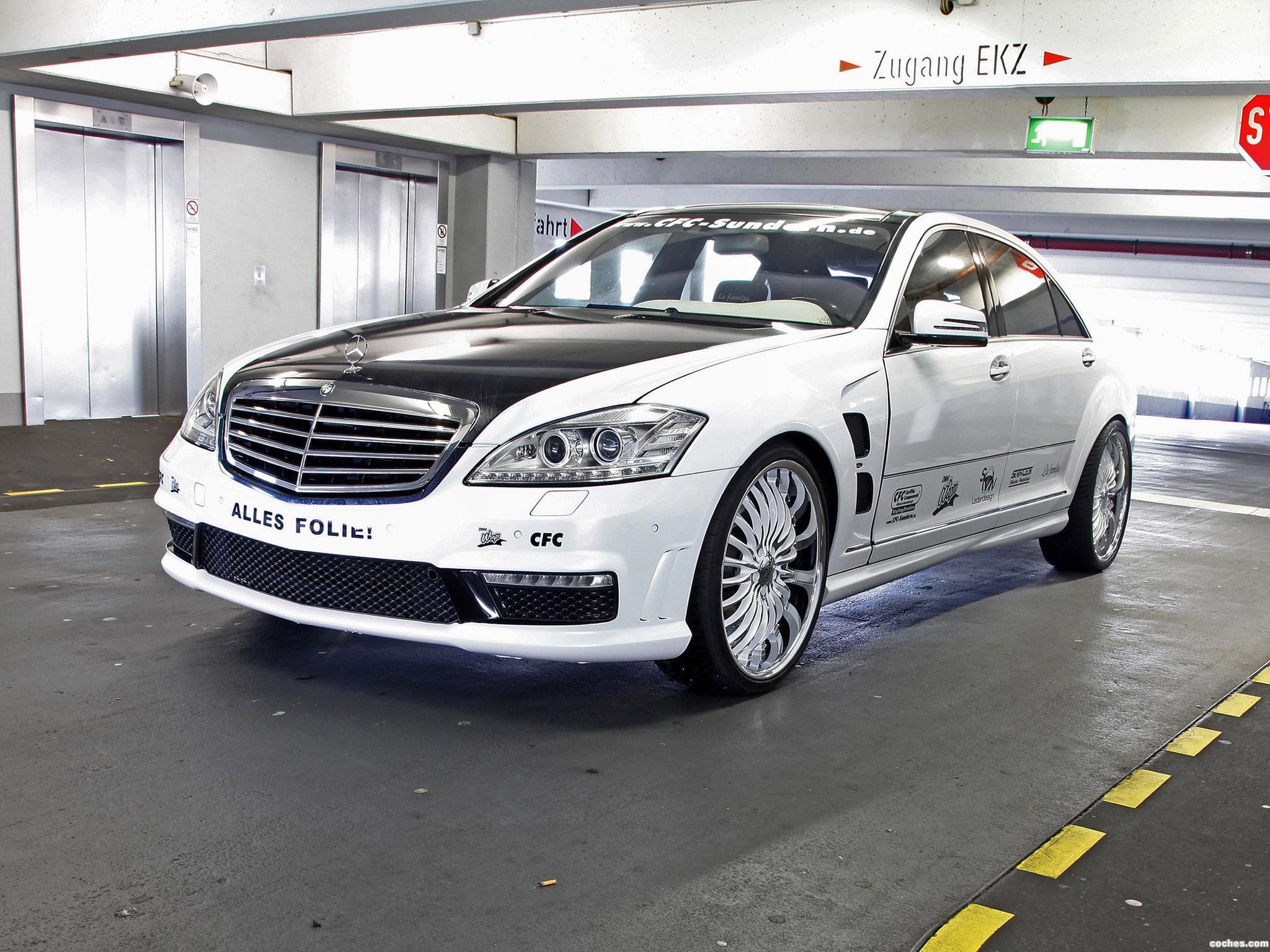 Foto 3 de CFC Mercedes Clase S S65 AMG W221 2012