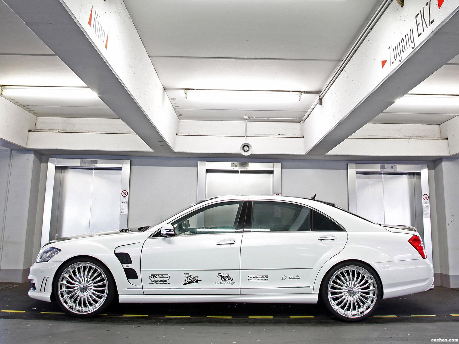 Foto 2 de CFC Mercedes Clase S S65 AMG W221 2012