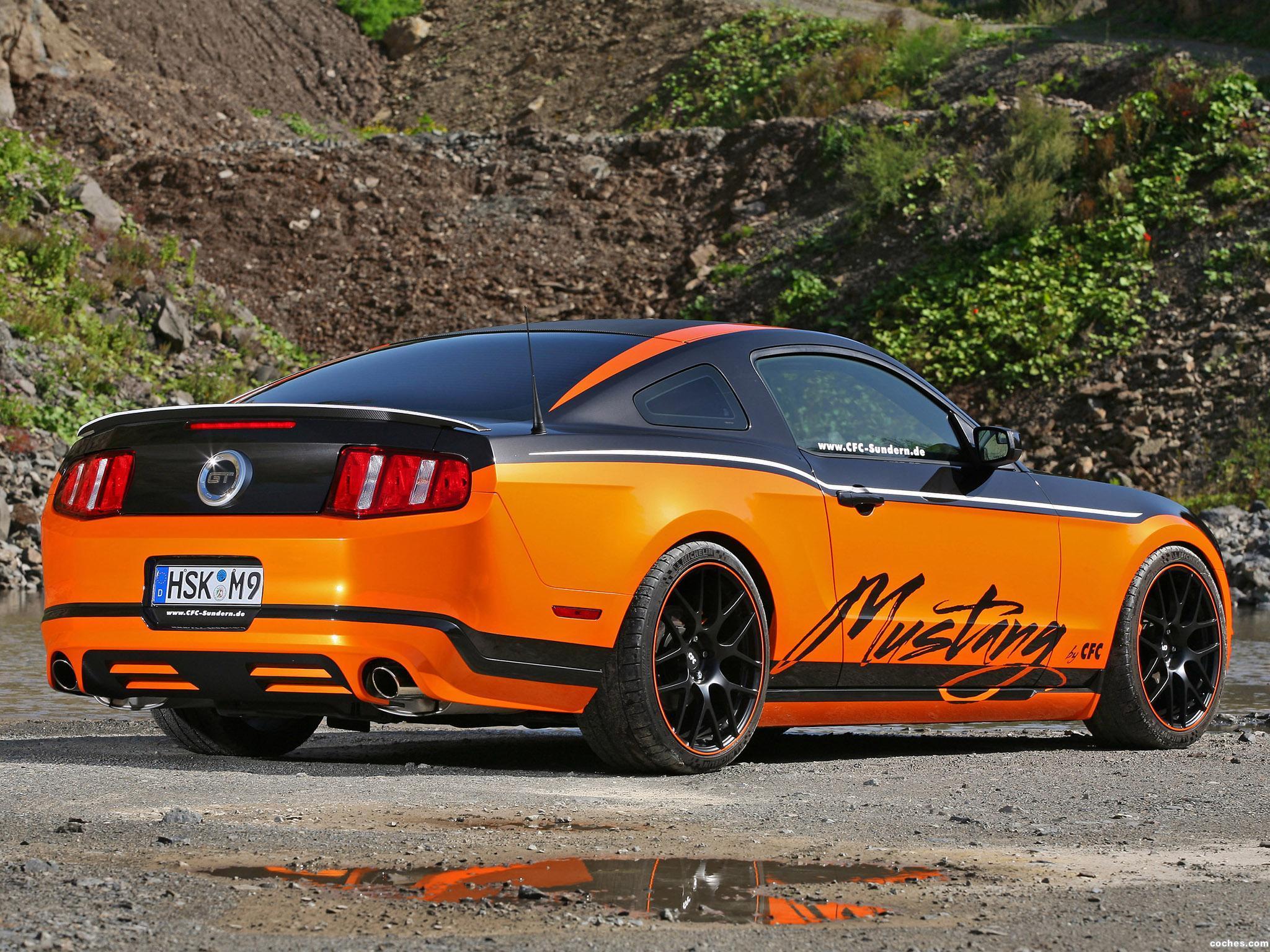 Foto 2 de CFC Ford Mustang Sundern World Marko Mennekes 2011